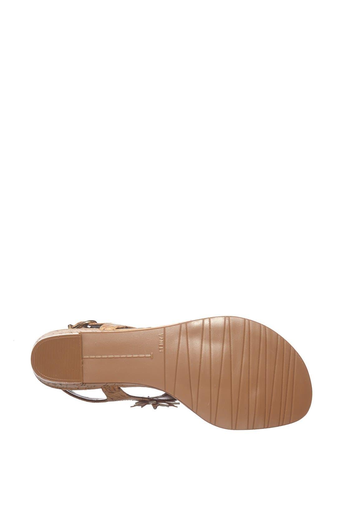 Alternate Image 3  - VANELi 'Kenan' Wedge Thong Sandal