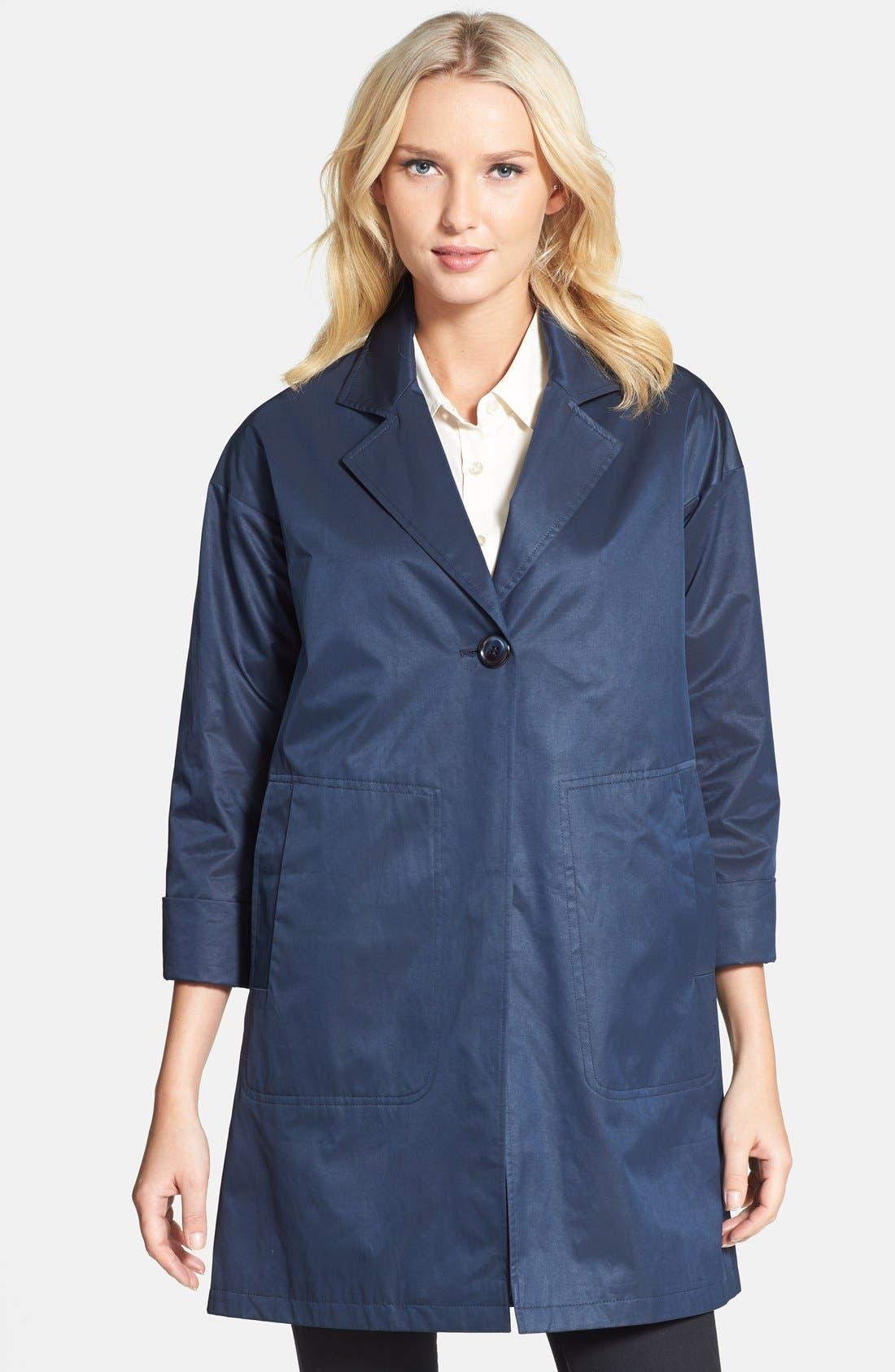 Alternate Image 1 Selected - Helene Berman Bracelet Sleeve One-Button Coat