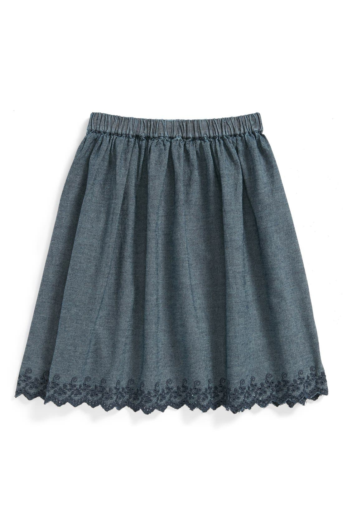 Alternate Image 1 Selected - Peek 'Harlow' Skirt (Toddler Girls, Little Girls & Big Girls)