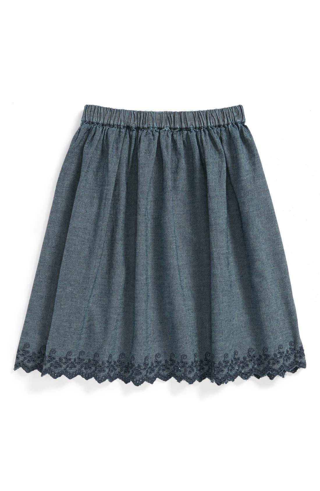Main Image - Peek 'Harlow' Skirt (Toddler Girls, Little Girls & Big Girls)