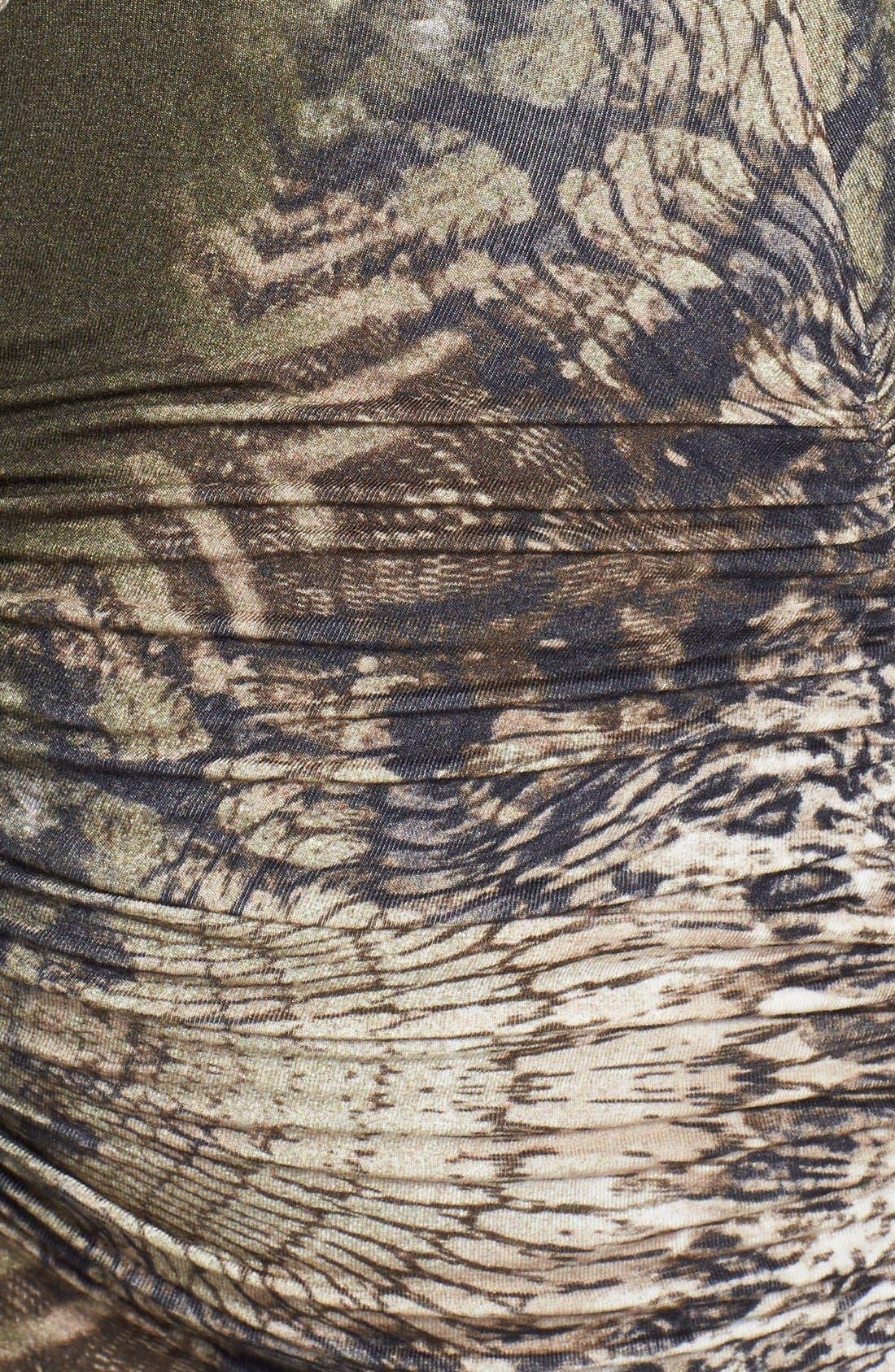 Alternate Image 3  - Sky 'Iakova' Print Ruched Jersey Maxi Dress