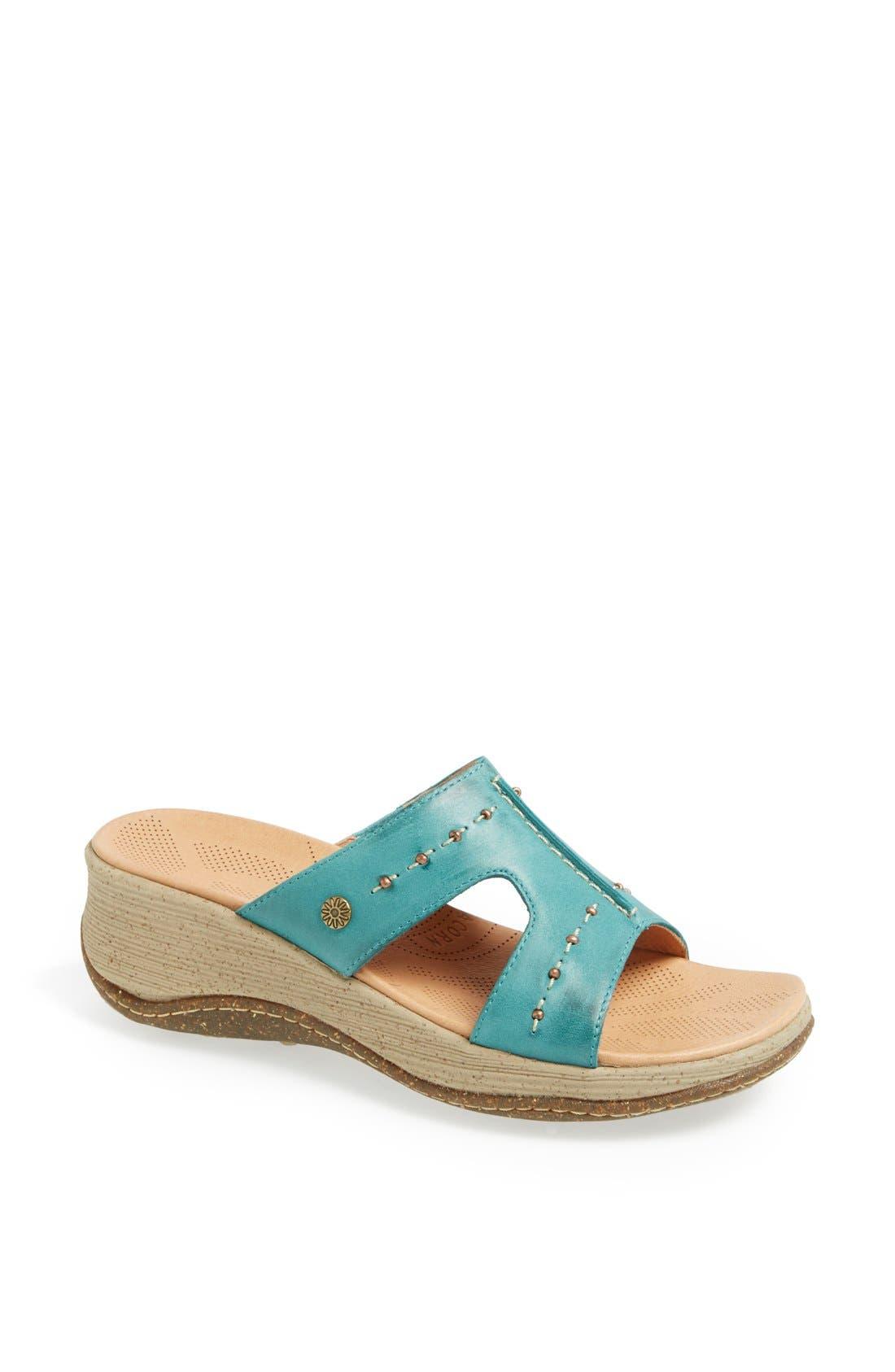 Alternate Image 1 Selected - Acorn 'Vista' Wedge Sandal