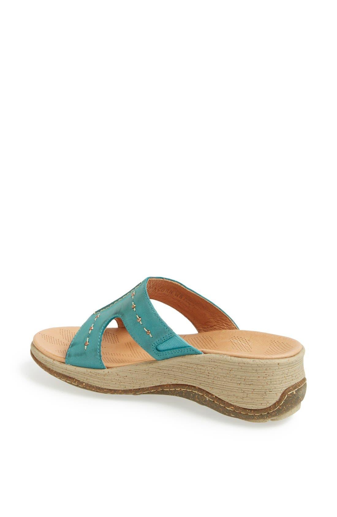 Alternate Image 2  - Acorn 'Vista' Wedge Sandal