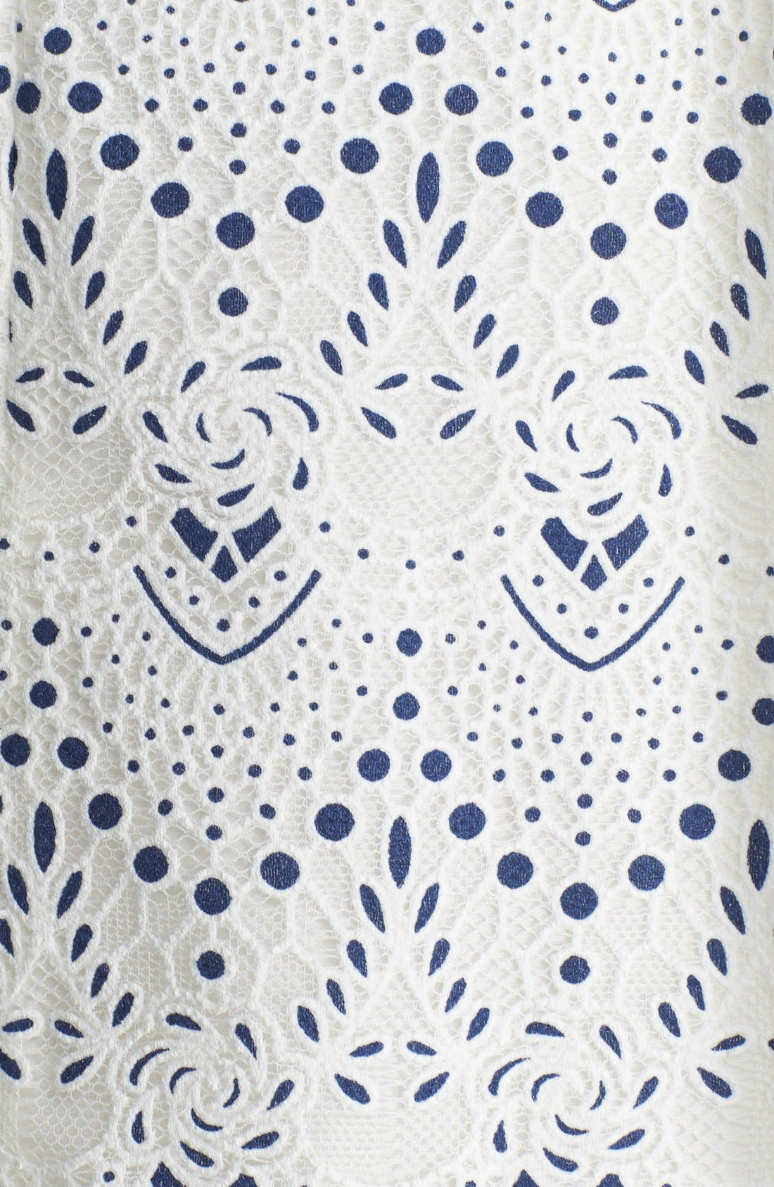 Alternate Image 3  - Mcginn 'Kara' Lace Fit & Flare Dress