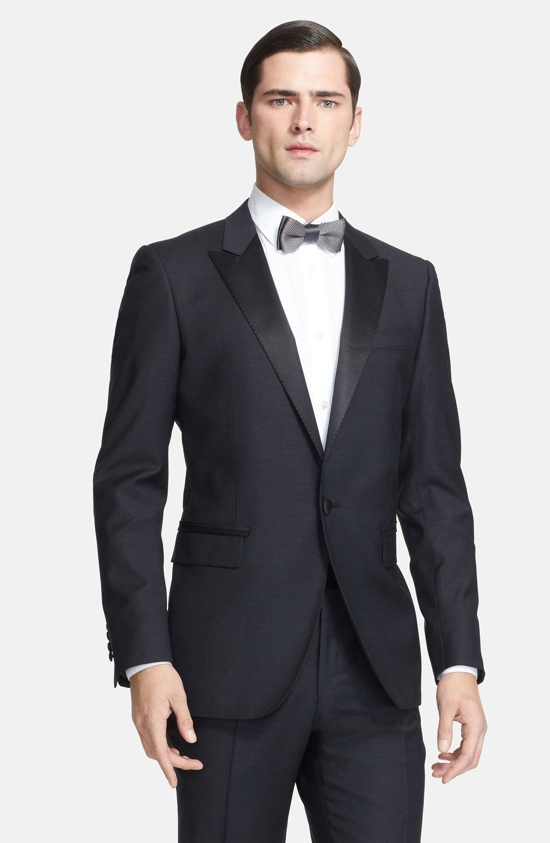 Alternate Image 3  - Lanvin 'Attitude' Black Wool Tuxedo