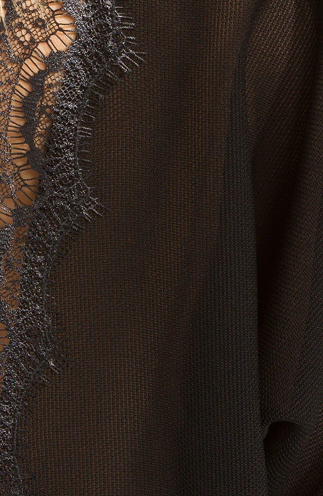 Alternate Image 3  - sandro 'Etincelle' Lace Trim Blouse
