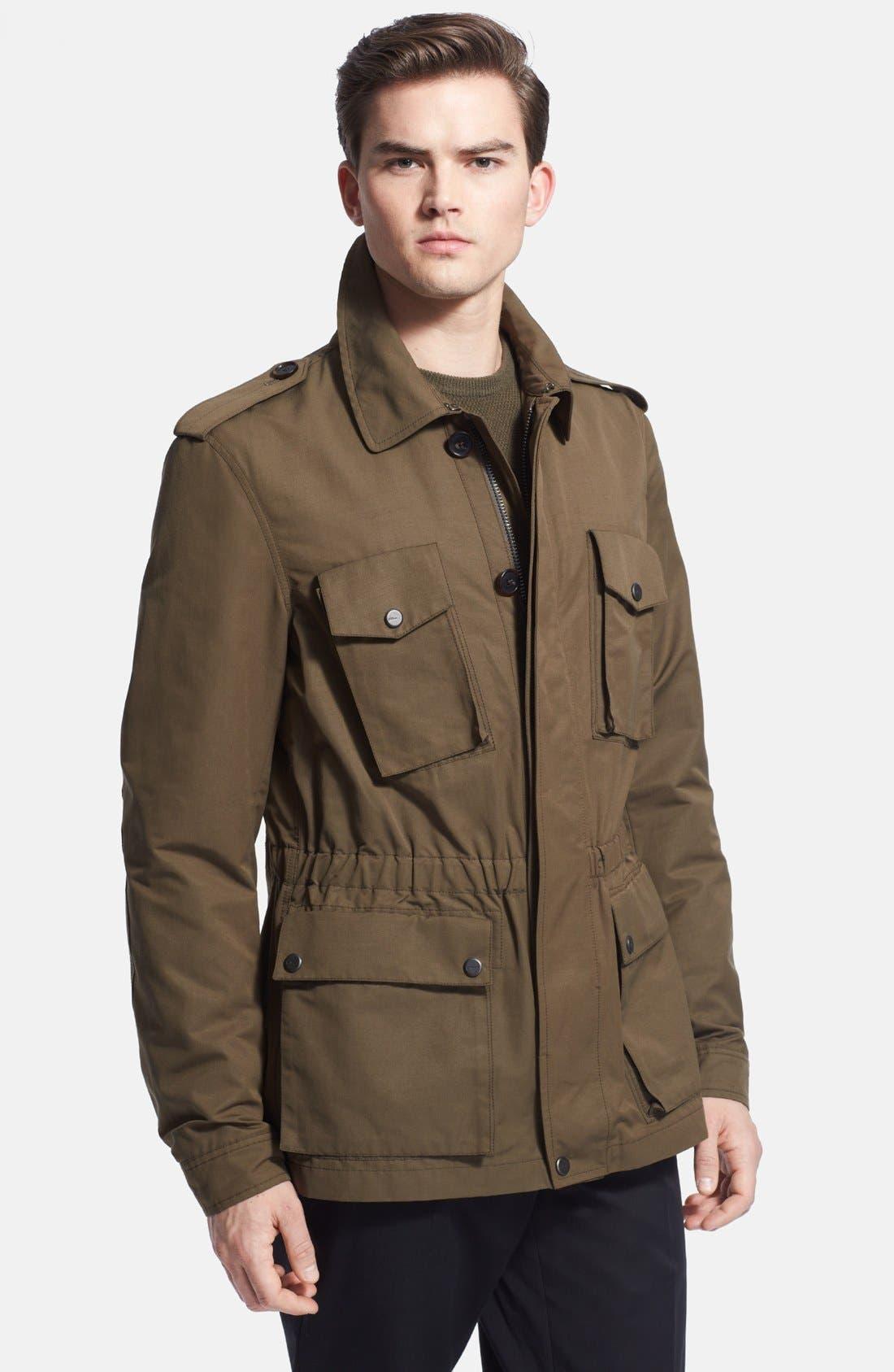 Alternate Image 1 Selected - Ralph Lauren Black Label Military Jacket