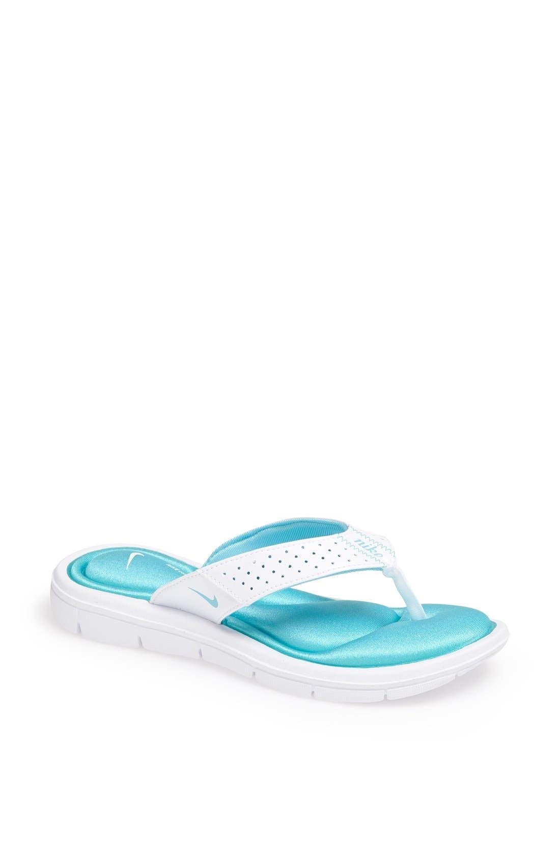 Alternate Image 1 Selected - Nike 'Comfort' Sandal (Women)
