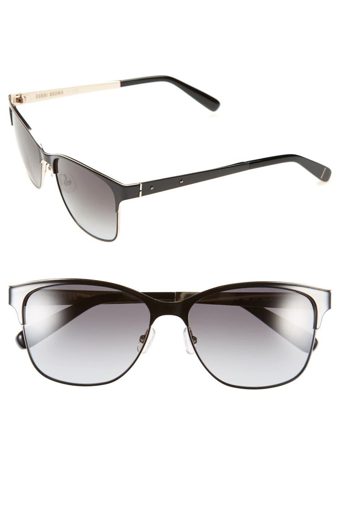 Alternate Image 1 Selected - Bobbi Brown 'The Ruby' 55mm Sunglasses