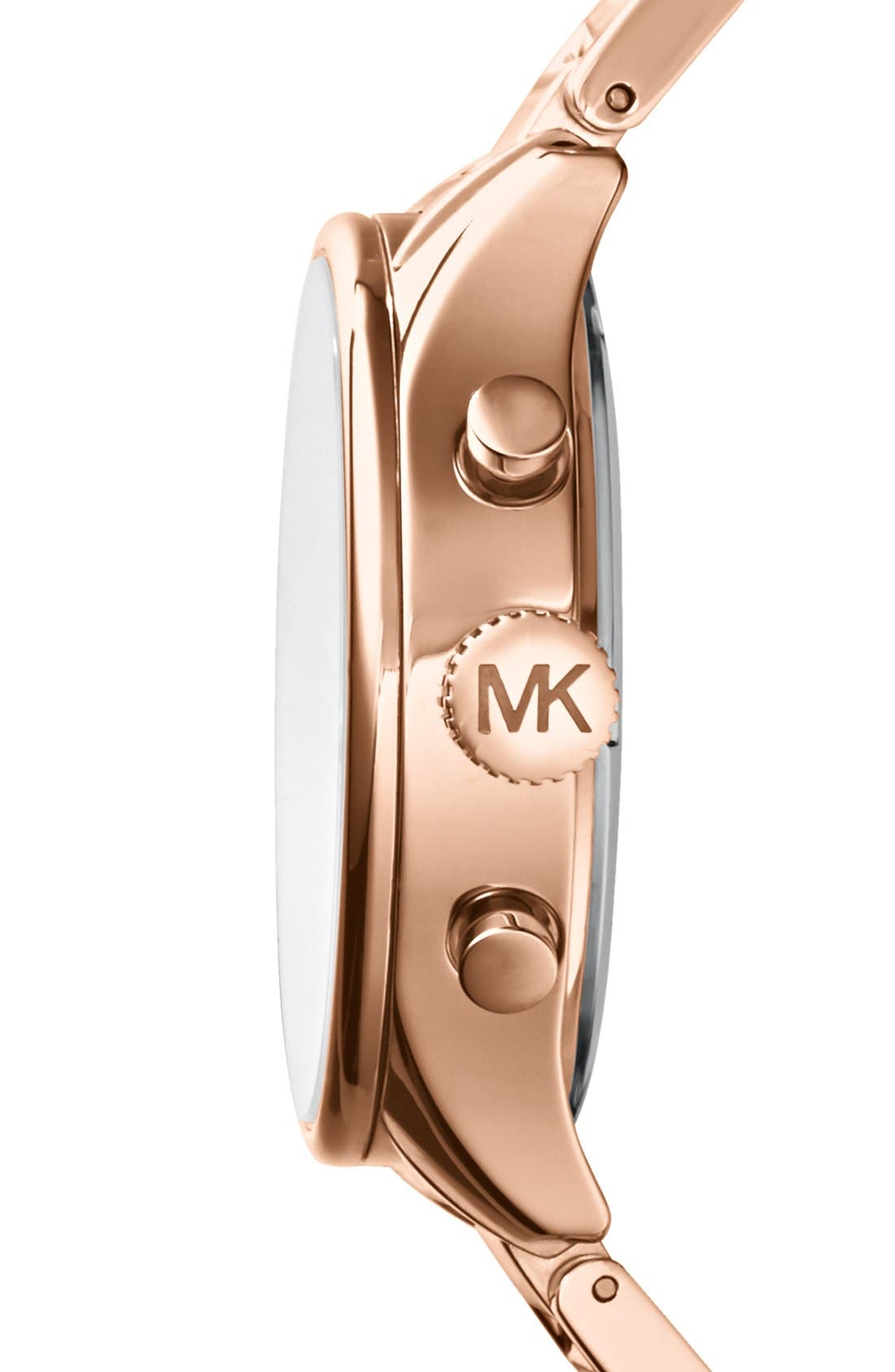 Alternate Image 3  - Michael Kors 'Bailey' Chronograph Bracelet Watch, 44mm