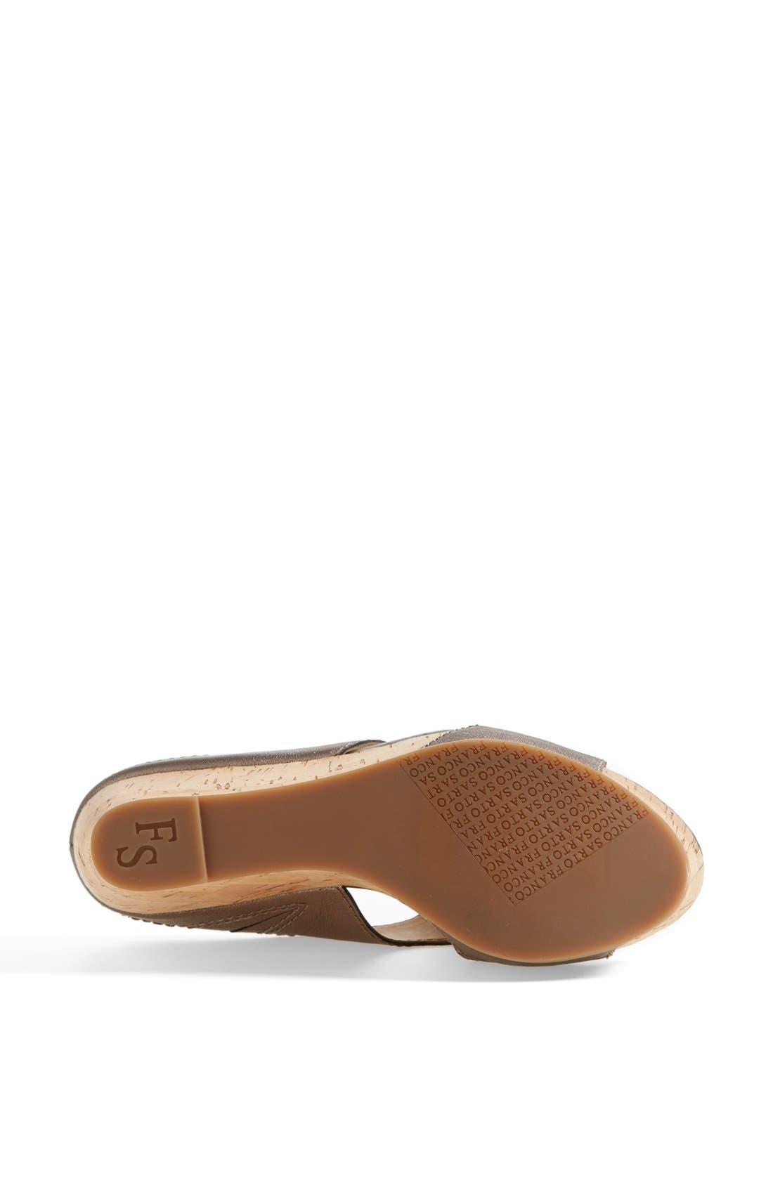 Alternate Image 4  - Franco Sarto 'Fiora' Sandal (Nordstrom Exclusive)