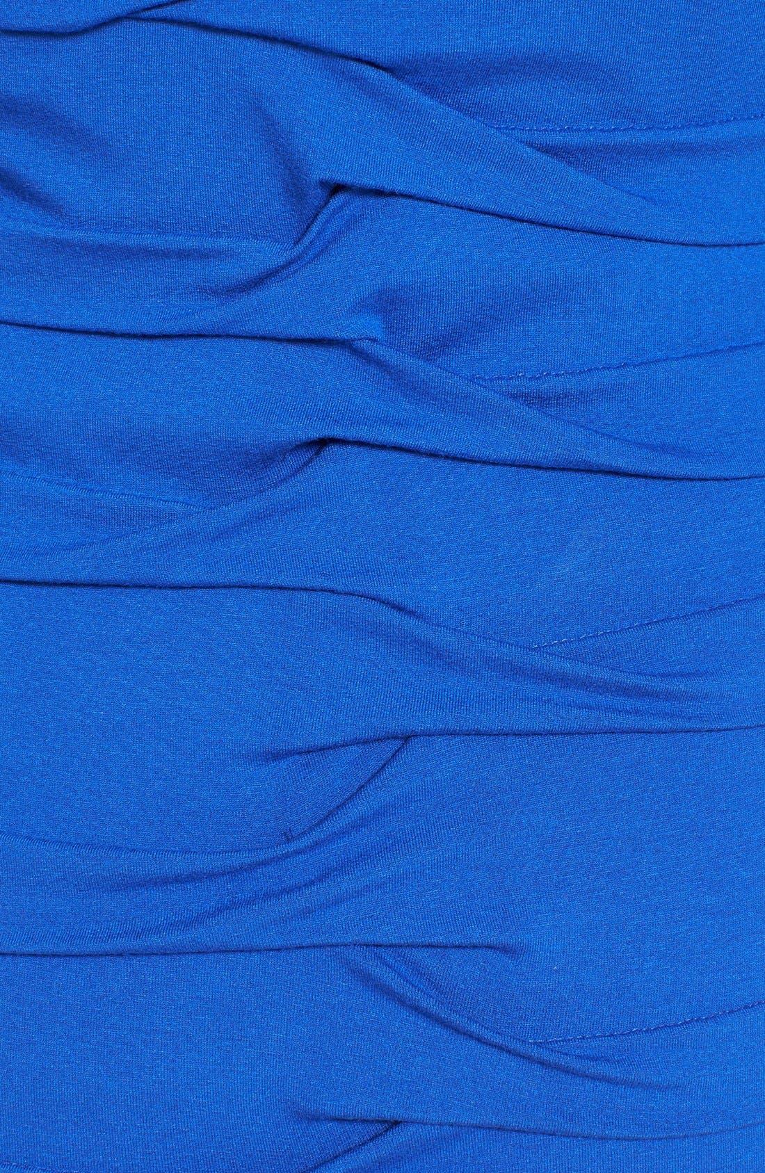Alternate Image 3  - Nicole Miller Tuck Detail Jersey Dress