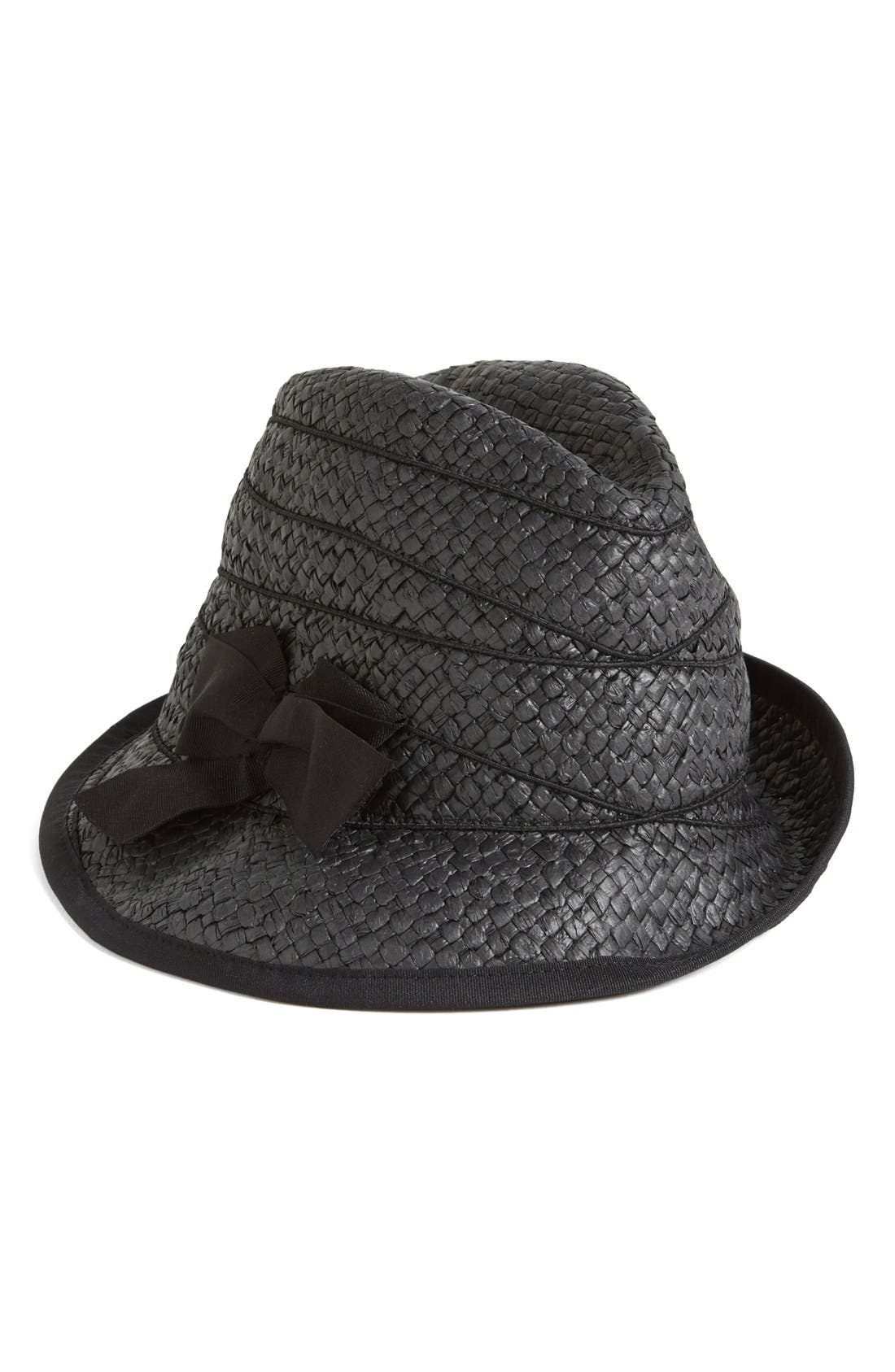 Alternate Image 1 Selected - August Hat Bow Fedora