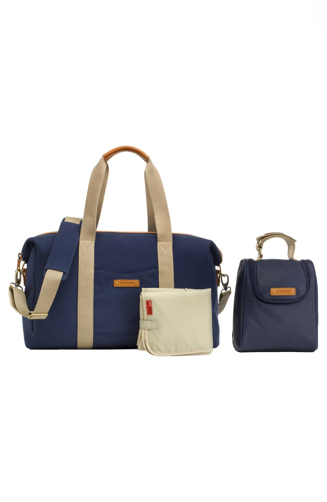Alternate Image 4  - Storksak 'Bailey' Weekend Tote