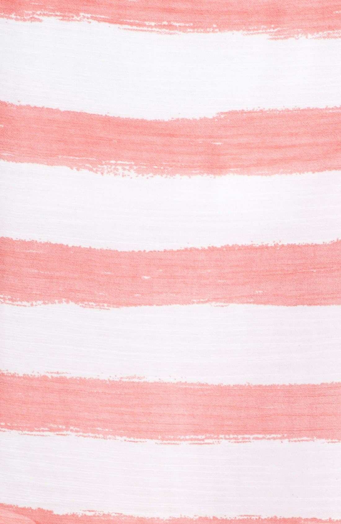 Alternate Image 4  - Isaac Mizrahi New York Belted Stripe Chiffon Dress
