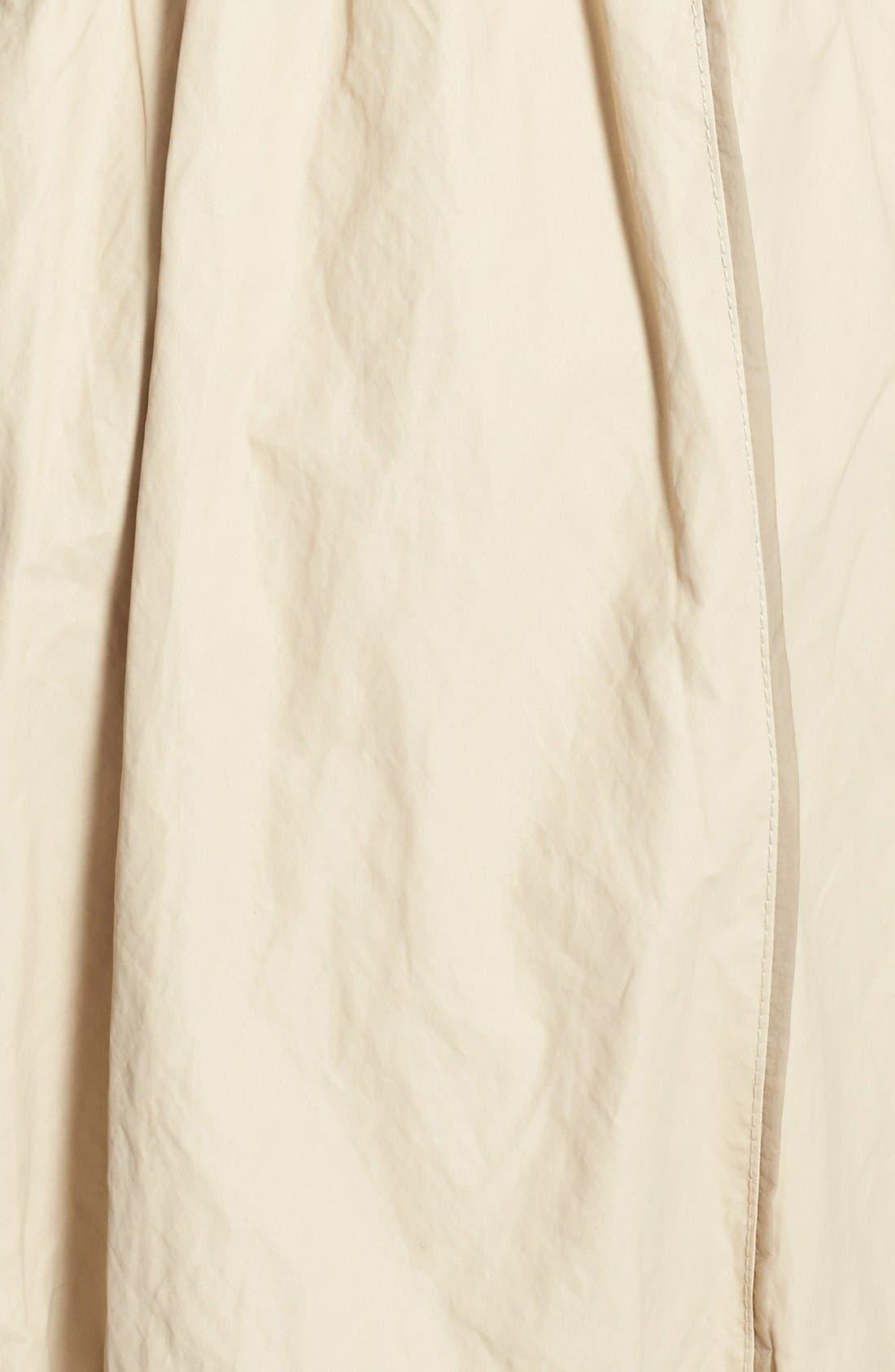 Alternate Image 3  - Creenstone® Ruffle Detail Drawstring Jacket