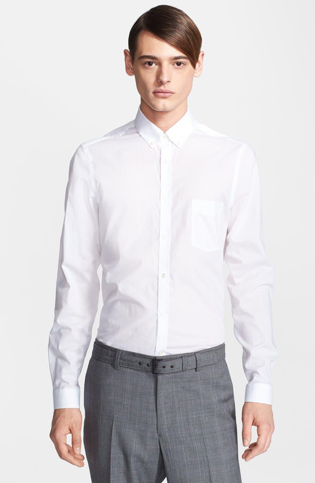 Alternate Image 1 Selected - The Kooples Slim Fit Dress Shirt