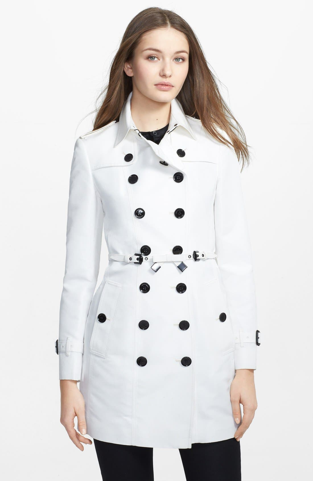 Main Image - Burberry London Double Breasted Trench Coat