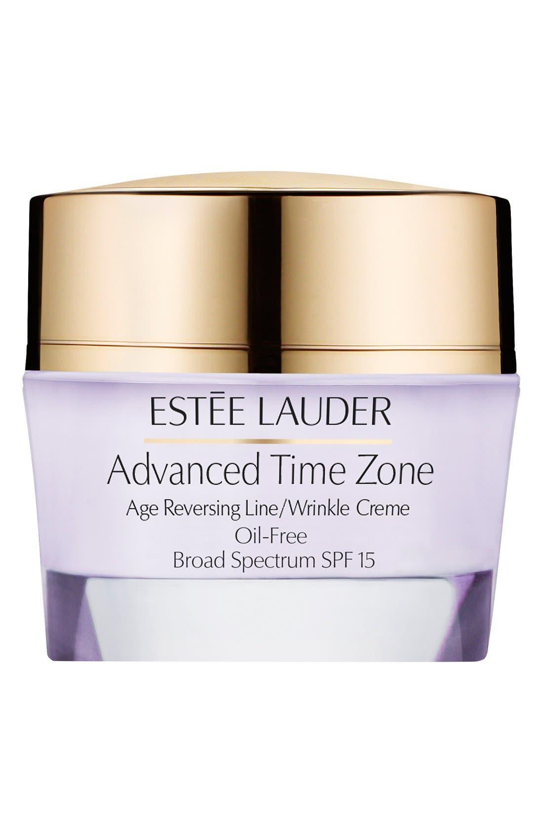 Estée Lauder Advanced Time Zone Age Reversing Line/Wrinkle Creme Oil-Free Broad Spectrum SPF 15
