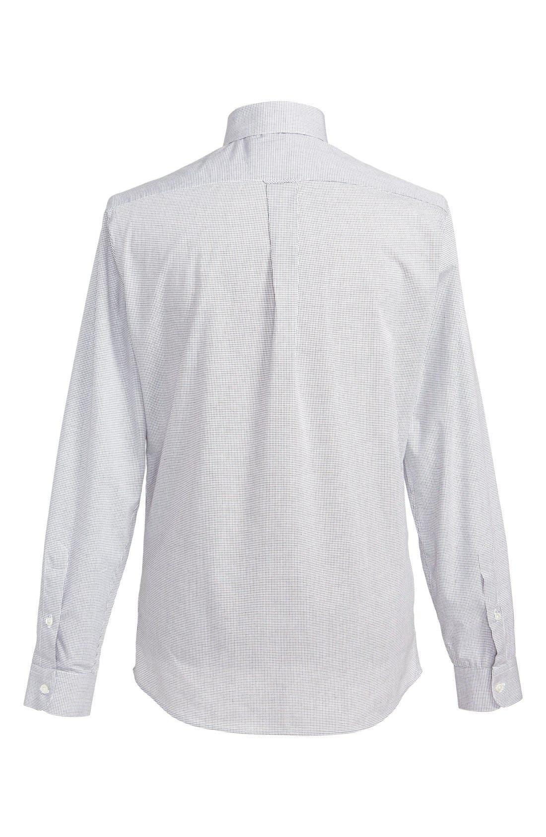 Alternate Image 3  - Patrik Ervell Mini Check Woven Shirt