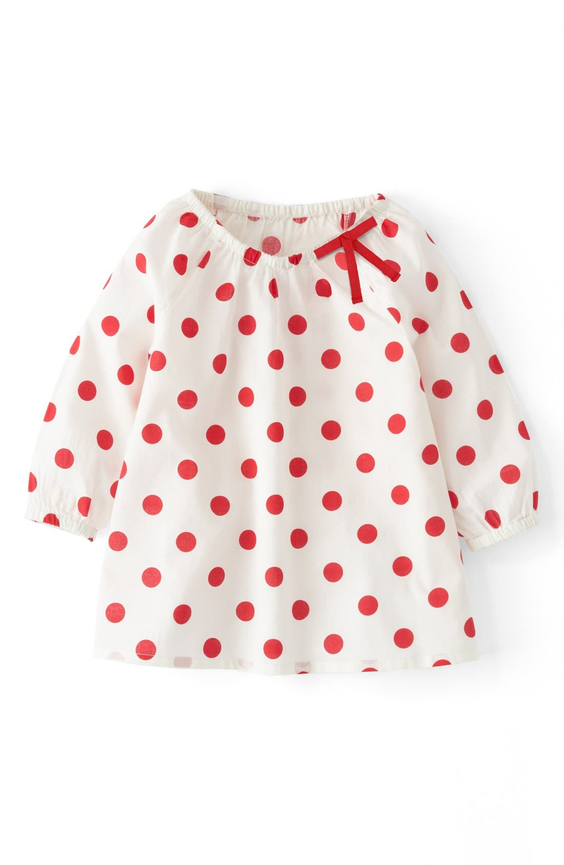 Alternate Image 1 Selected - Mini Boden 'Pretty' Woven Top (Toddler Girls)