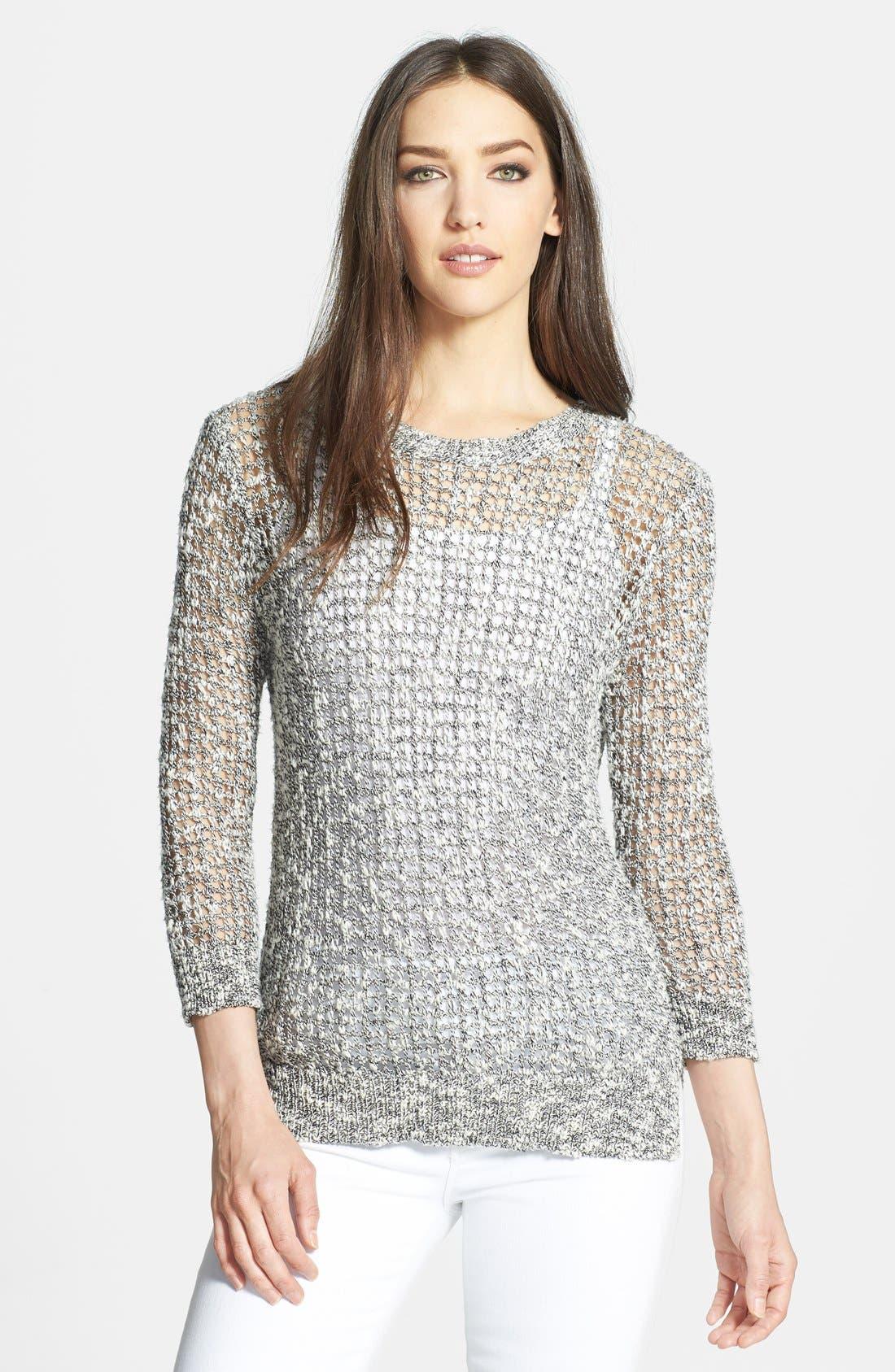 Main Image - Theory 'Rainee' Open Knit Sweater