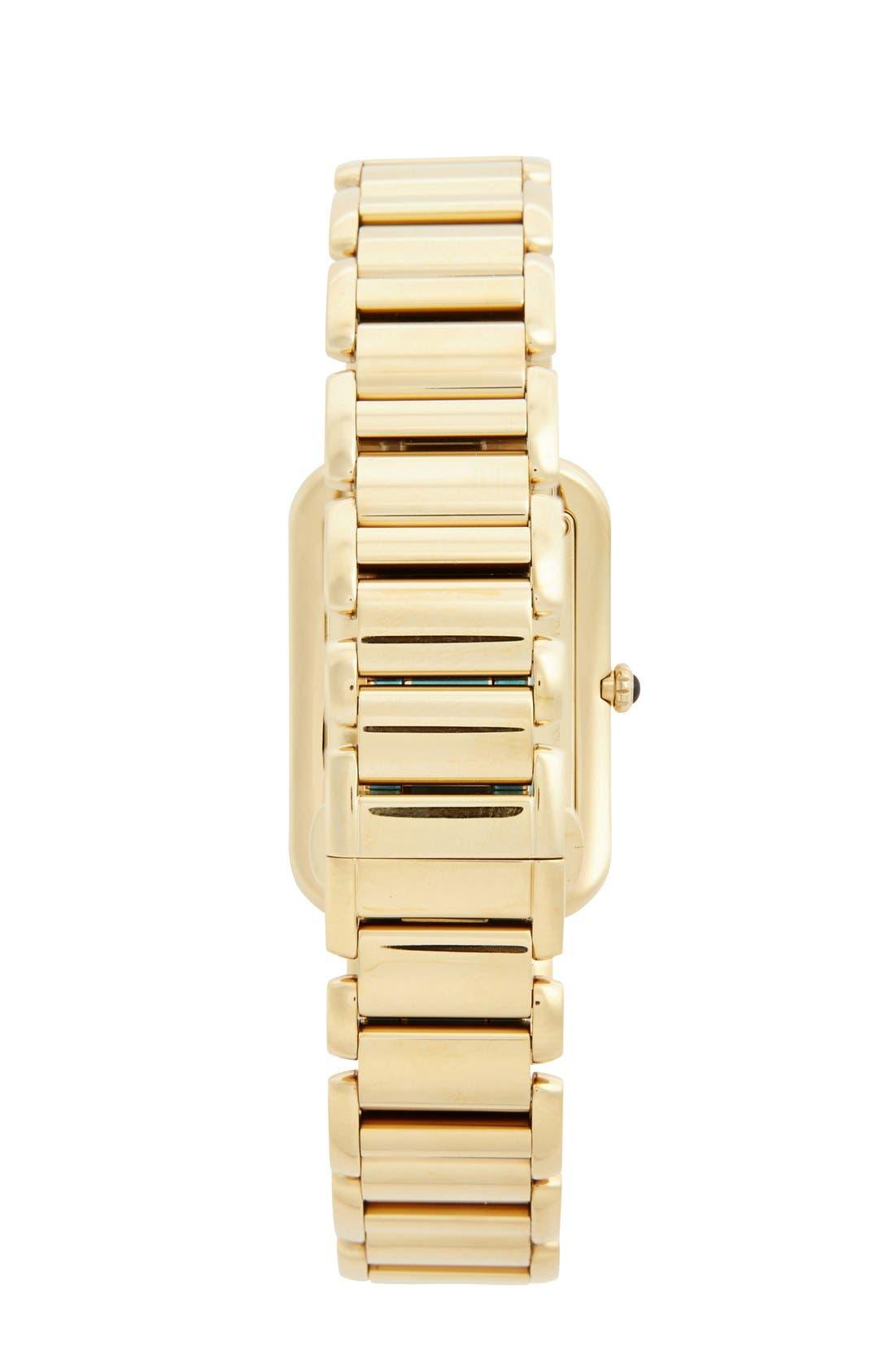 Alternate Image 2  - Fendi 'Classico' Rectangular Bracelet Watch, 25mm x 36mm