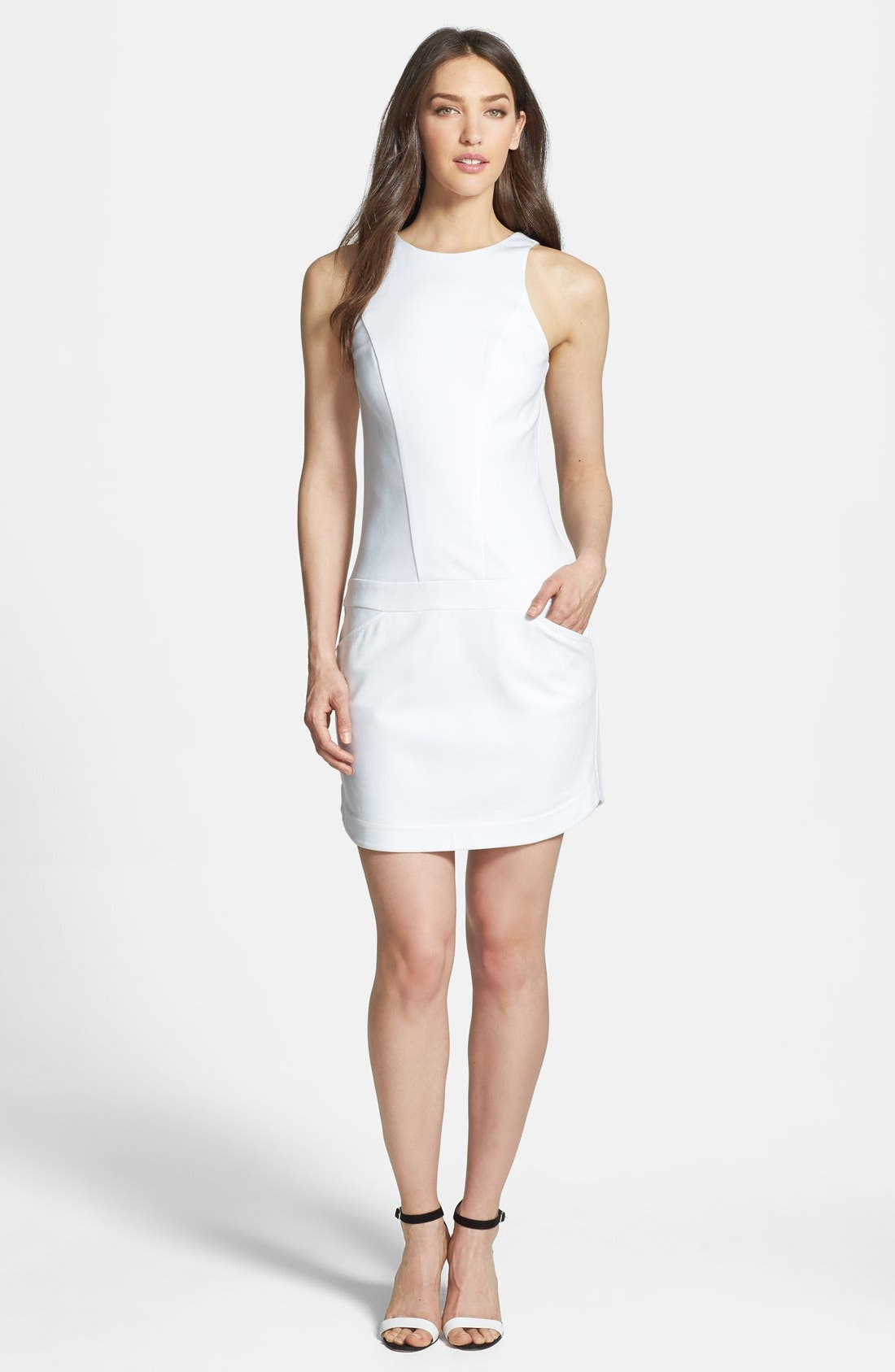 Alternate Image 1 Selected - Trina Turk 'Covina' Ponte Sheath Dress