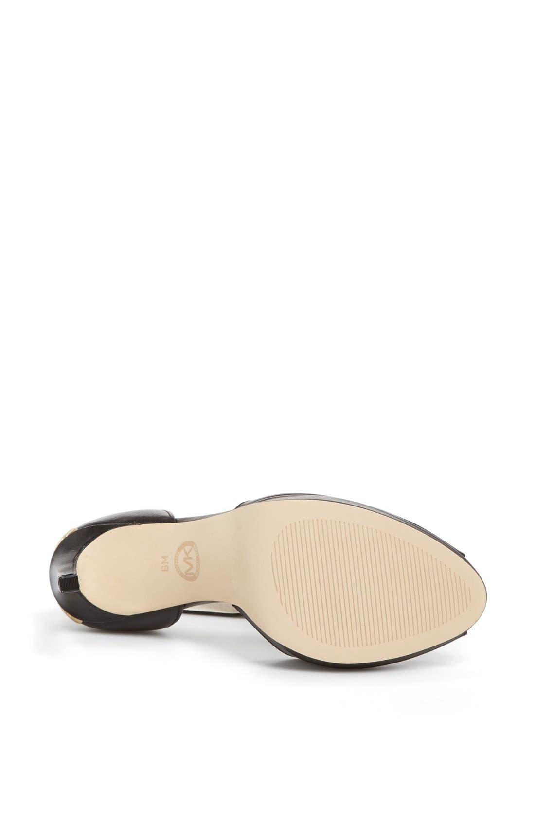 Alternate Image 4  - MICHAEL Michael Kors 'Calder' Ankle Strap Sandal