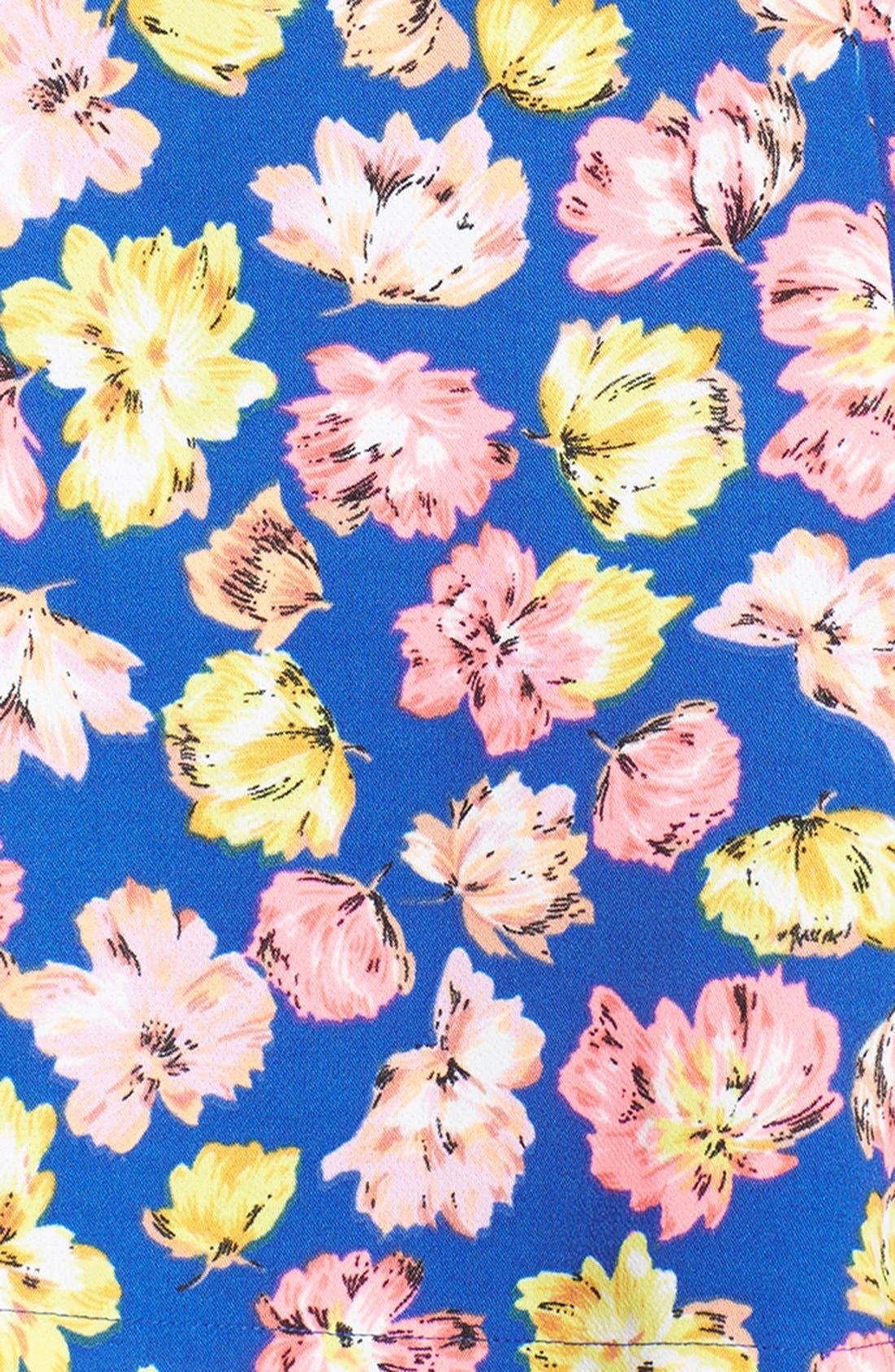Alternate Image 3  - JOA Floral Pinafore Dress