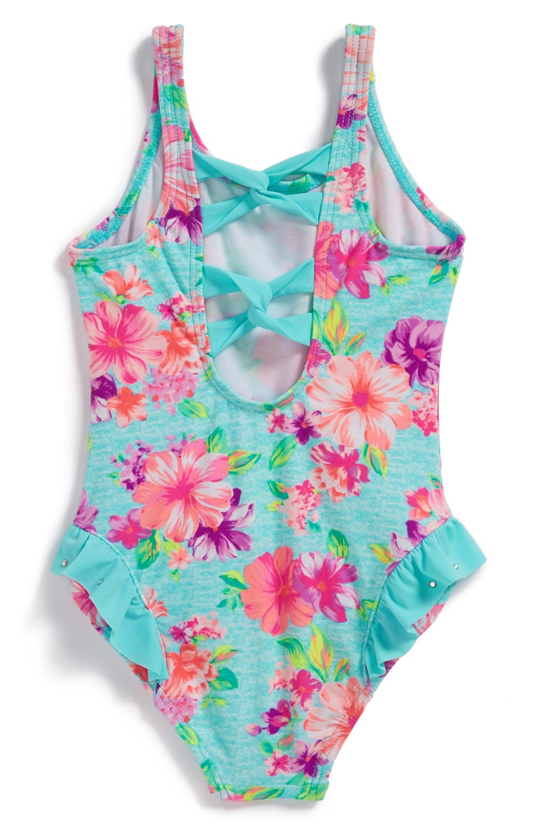 Alternate Image 2  - Hula Star 'Country Charm' One-Piece Swimsuit (Toddler Girls)