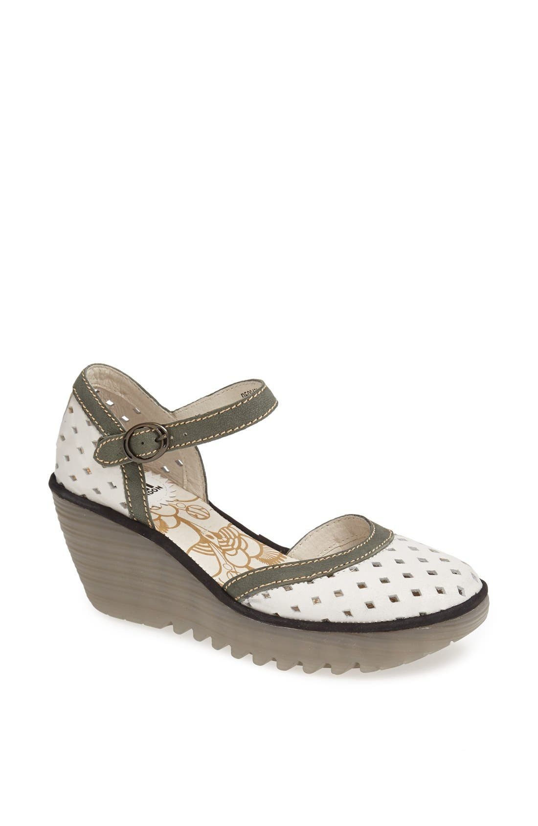 Alternate Image 1 Selected - Fly London 'Yana' Wedge Sandal