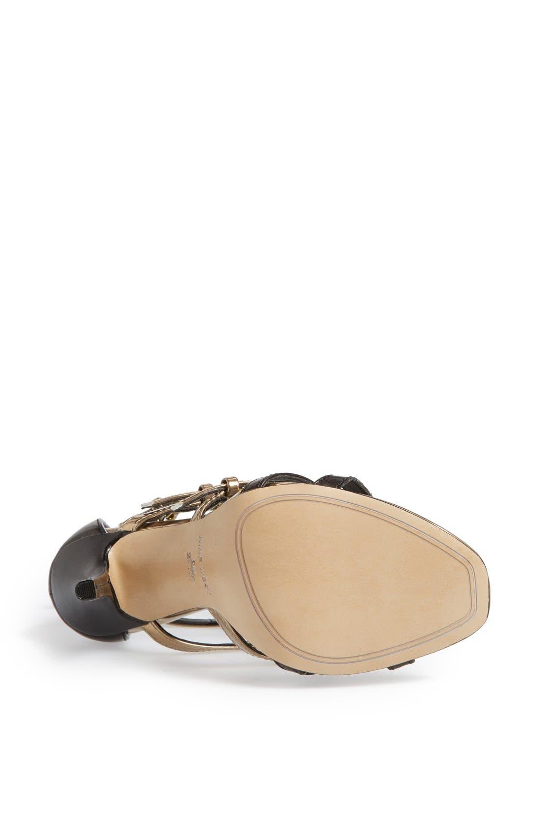 Alternate Image 4  - Nine West 'Karoler' Gladiator Sandal