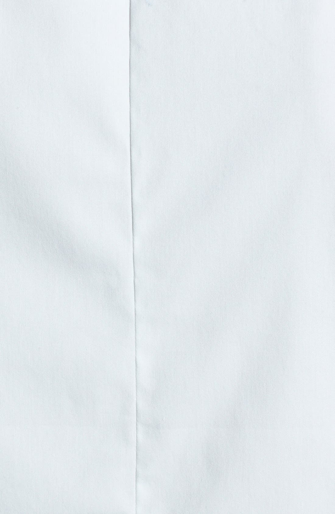 Alternate Image 3  - Theory 'Gemia' Crop Cotton Blend Shirt