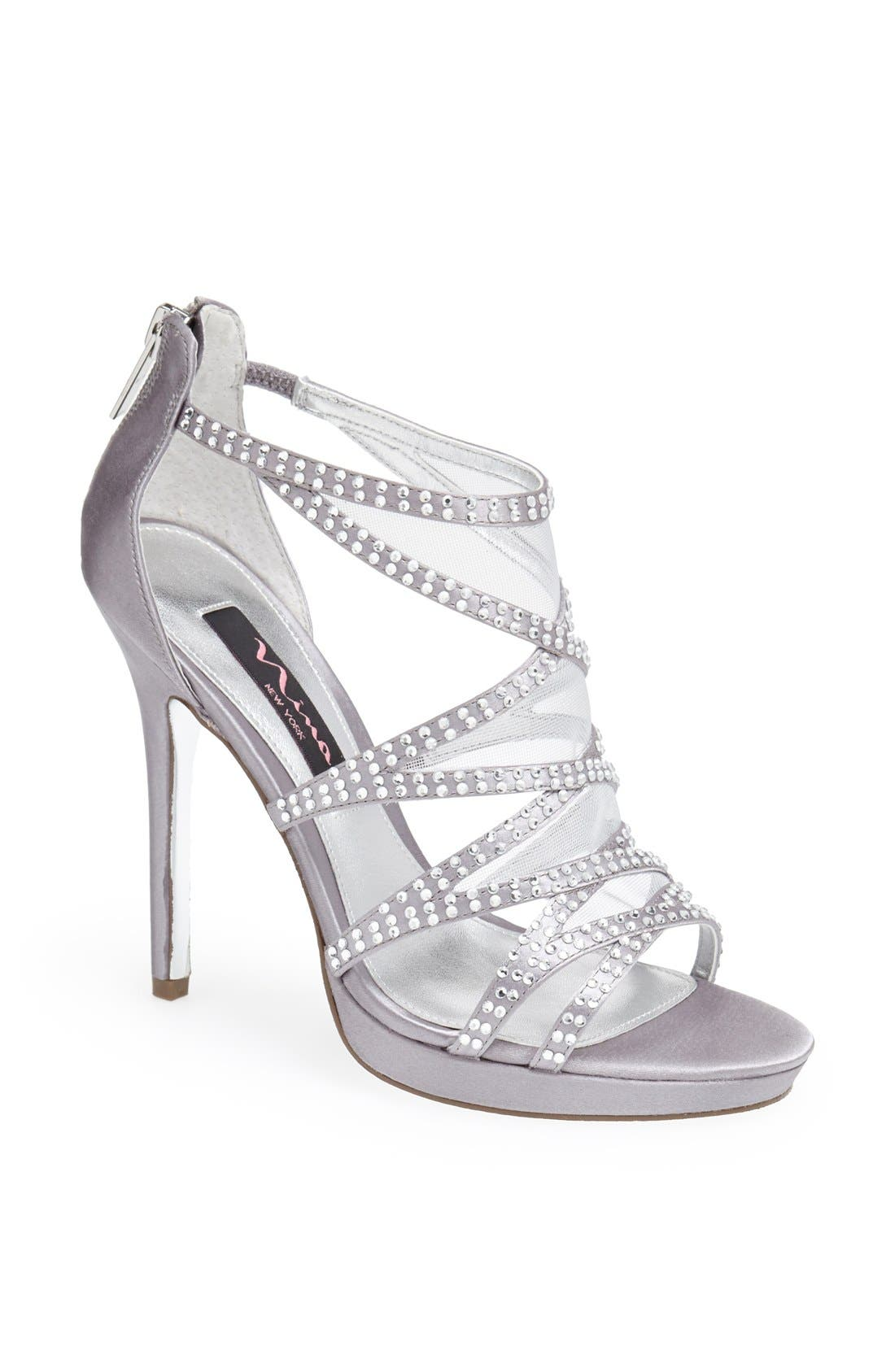 Alternate Image 1 Selected - Nina 'Belinda' Cage Sandal