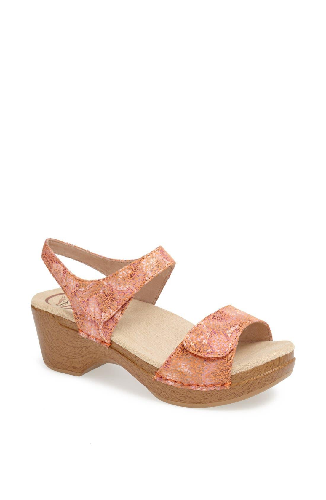 Alternate Image 1 Selected - Dansko 'Sonnet' Sandal