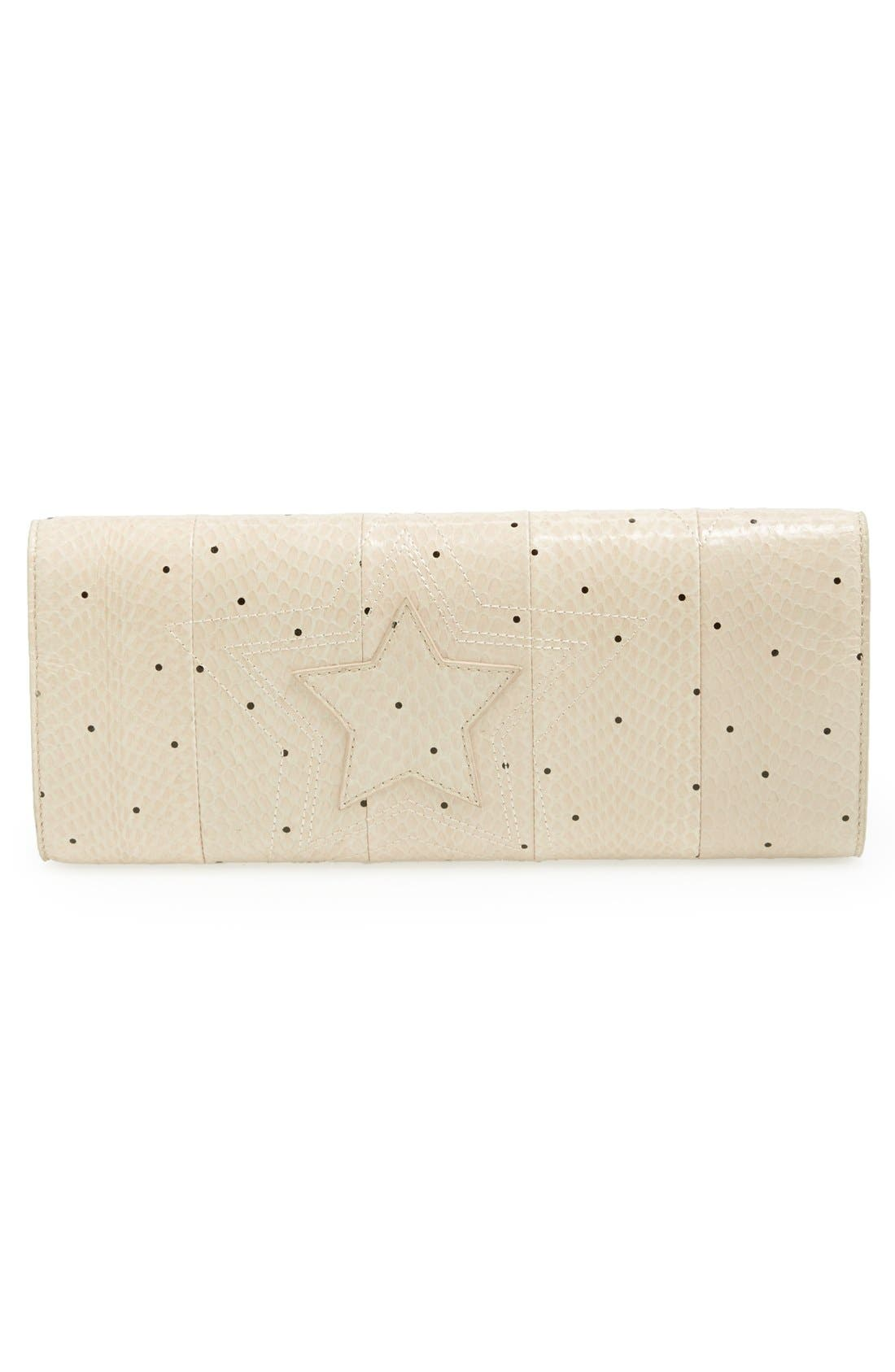 Alternate Image 4  - B Brian Atwood 'Ingrid' Snake Embossed Leather Clutch