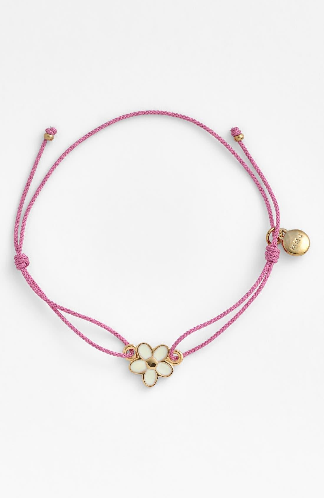 Main Image - MARC BY MARC JACOBS Flower Friendship Bracelet