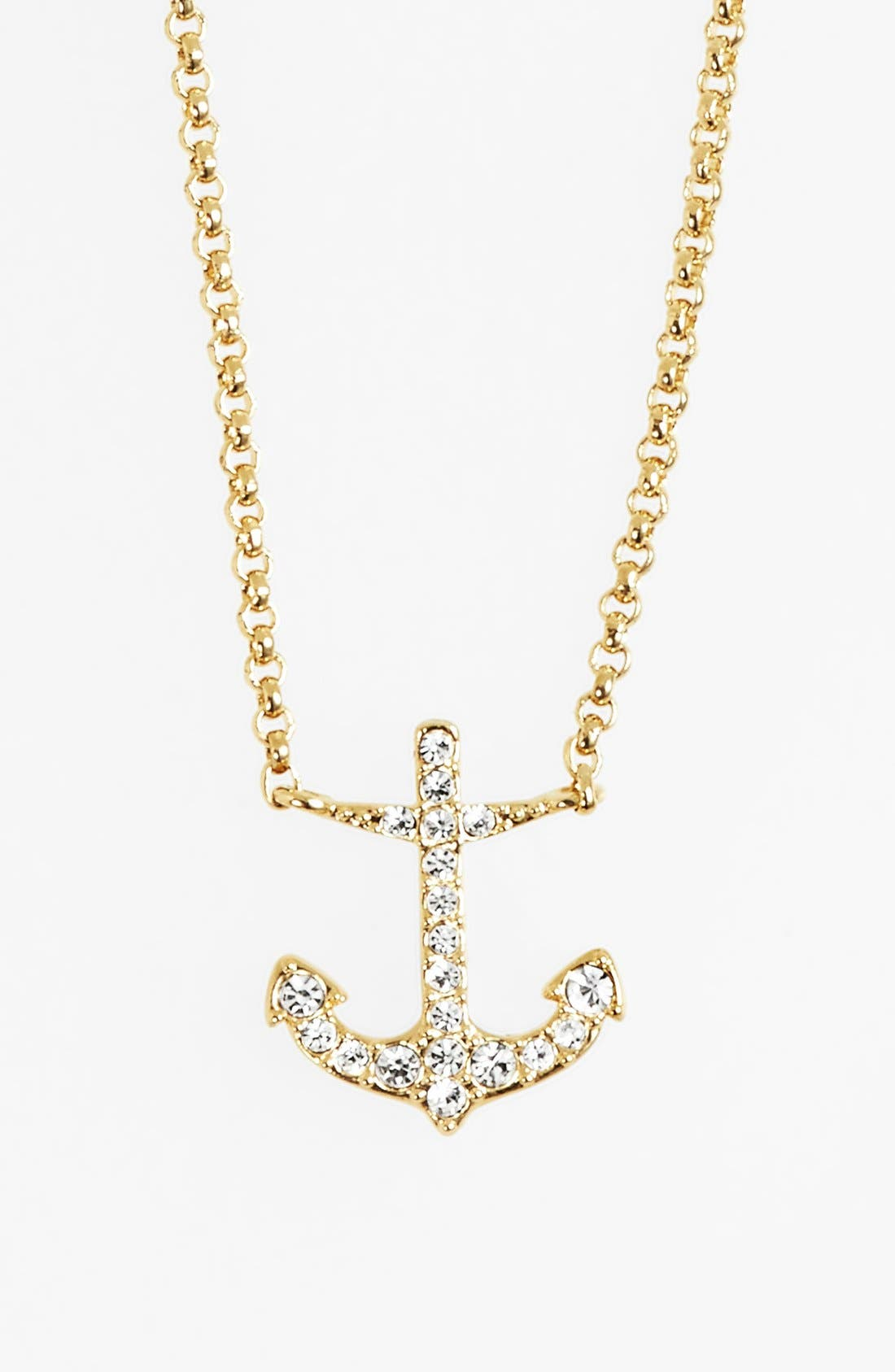 Alternate Image 1 Selected - Nadri Boxed Anchor Pendant Necklace