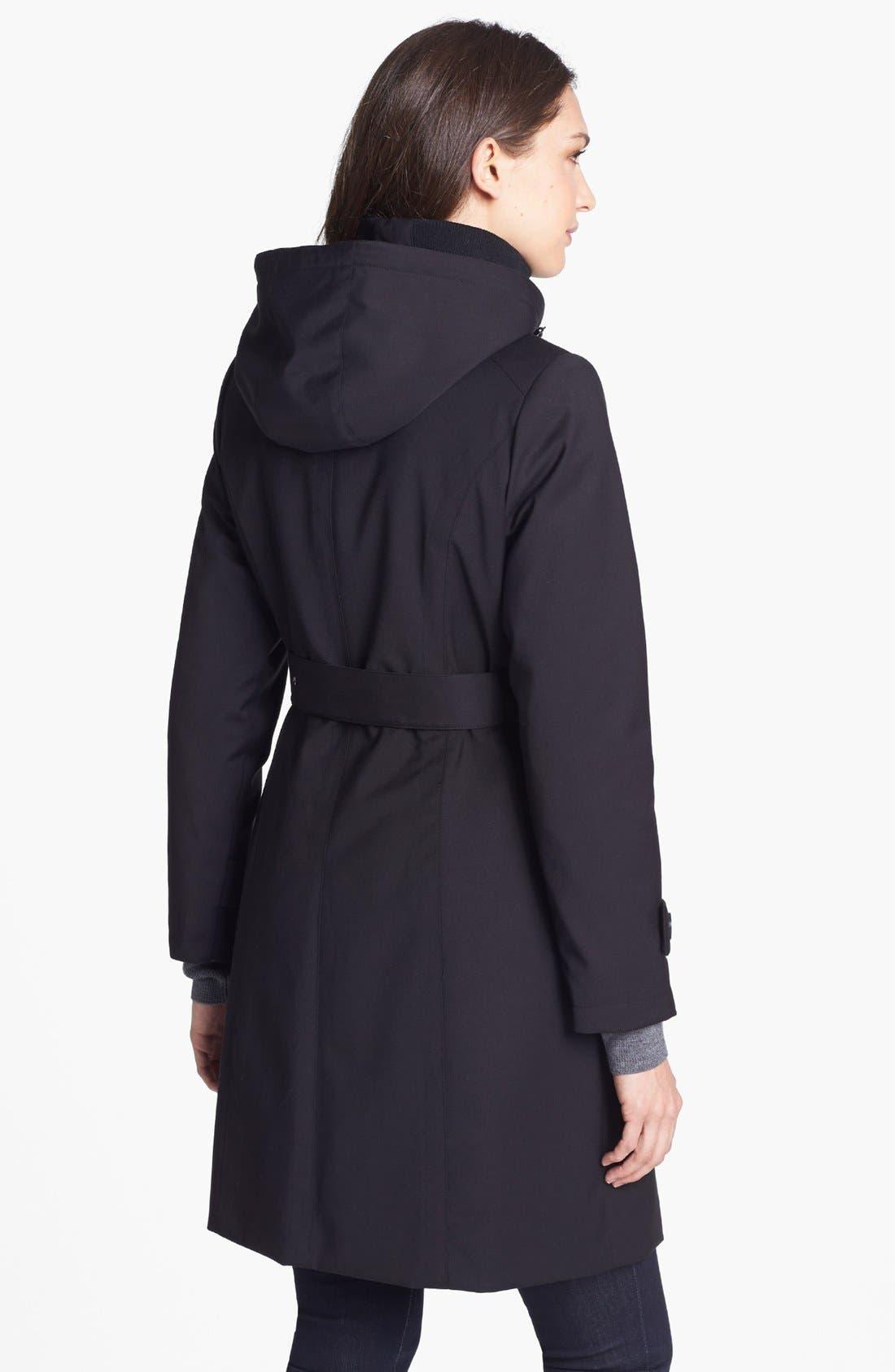 Alternate Image 3  - Kristen Blake Raincoat with Detachable Hood & Liner (Petite) (Nordstrom Exclusive)