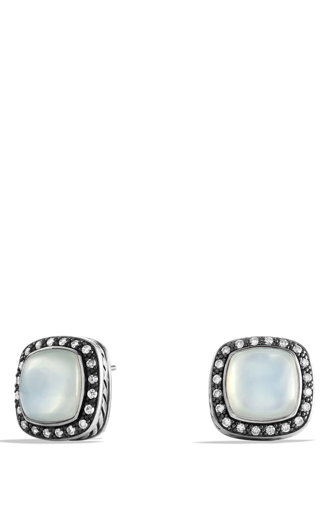 Alternate Image 1 Selected - David Yurman 'Midnight Mélange' Pavé Diamond Earrings