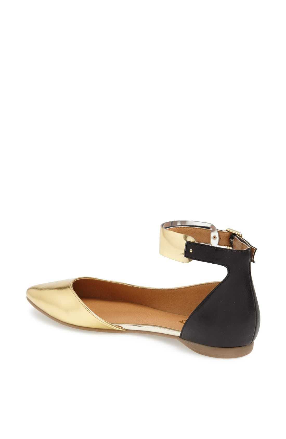 Alternate Image 2  - Kenneth Cole Reaction 'Pose Off 2' Cuff Ankle Strap Half d'Orsay Sandal