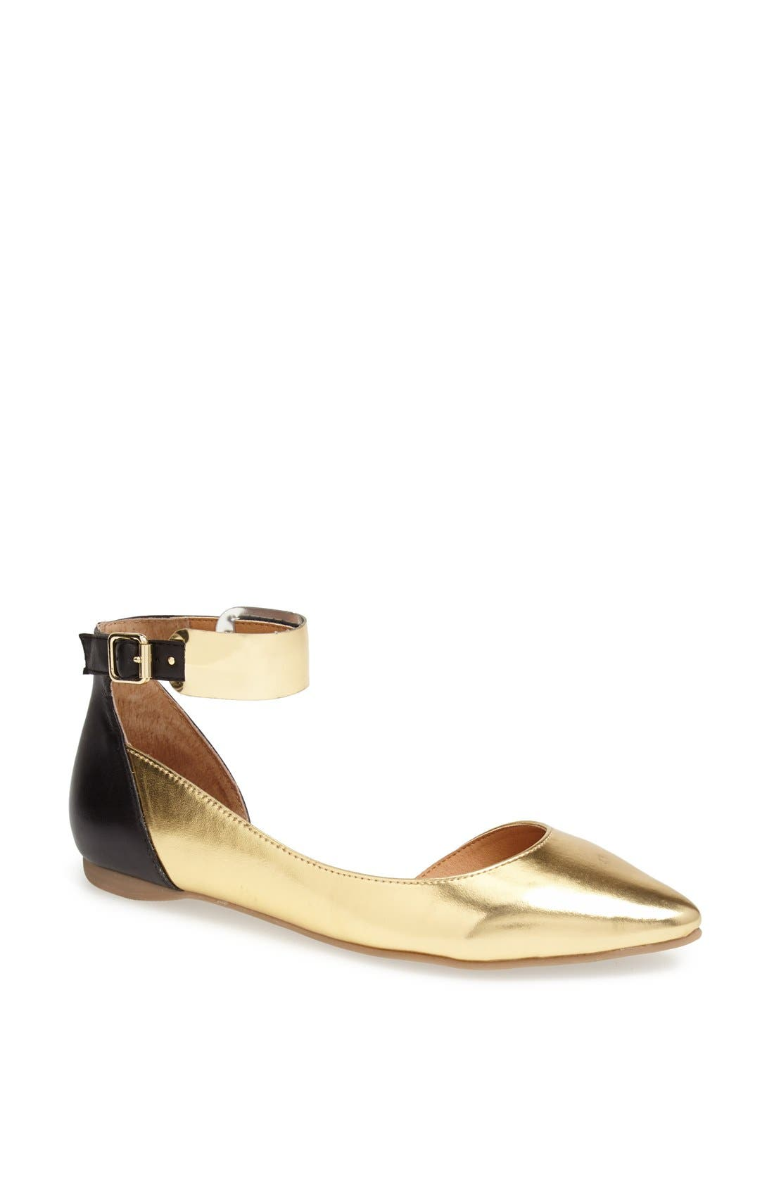Alternate Image 1 Selected - Kenneth Cole Reaction 'Pose Off 2' Cuff Ankle Strap Half d'Orsay Sandal