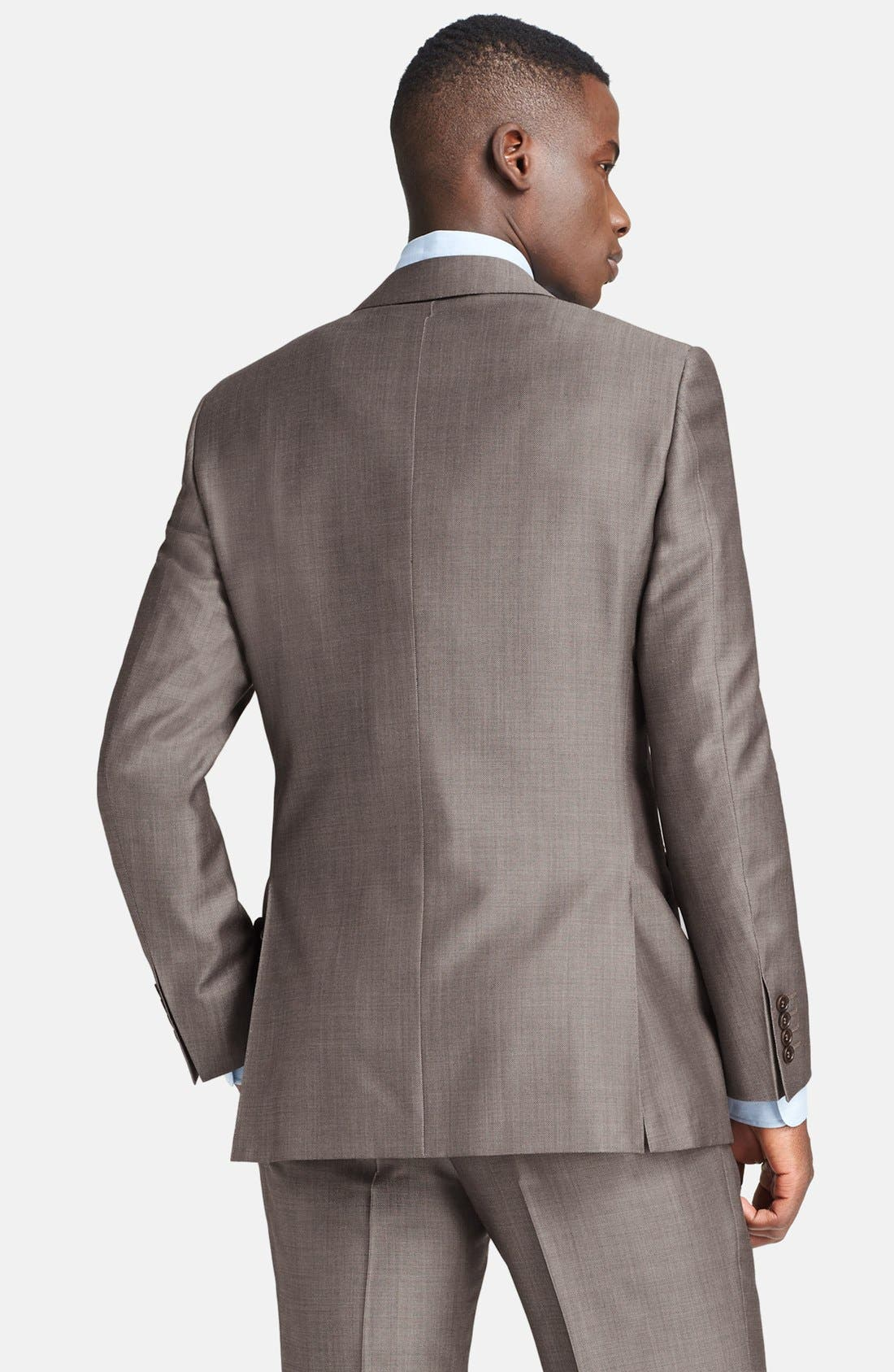 Alternate Image 3  - Canali Classic Fit Wool & Mohair Suit