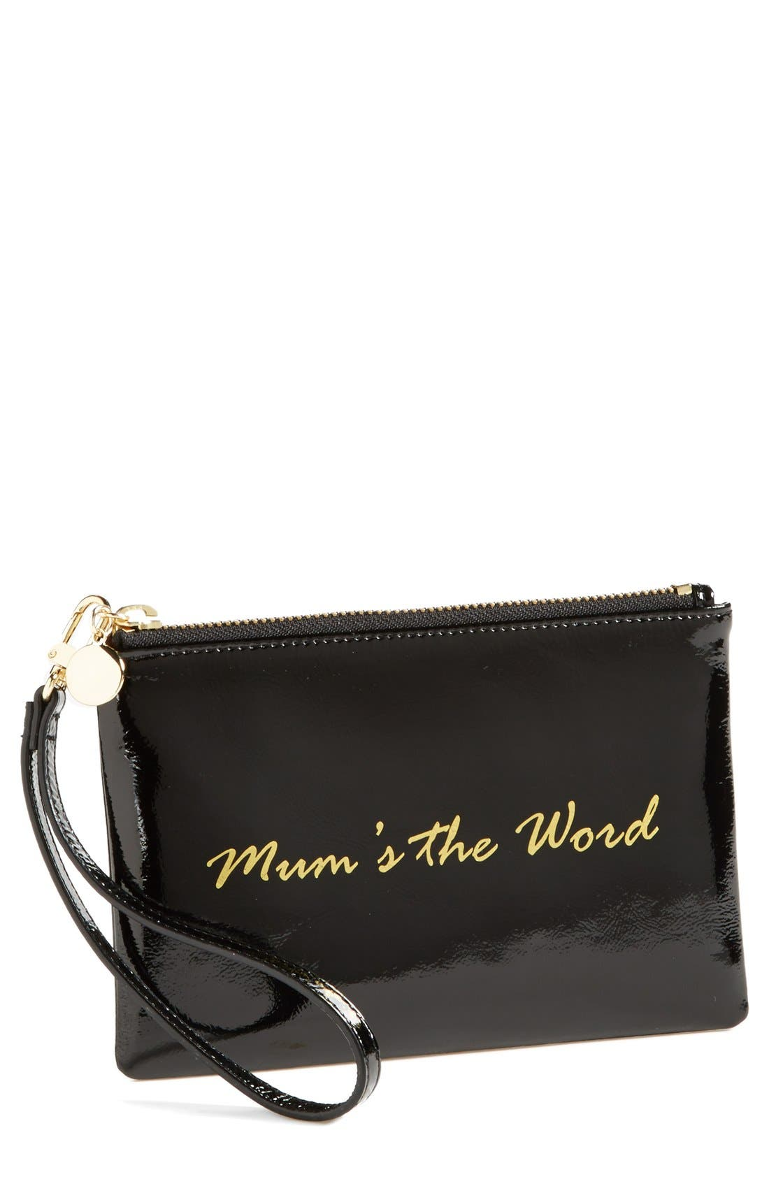 Main Image - Halogen® Patent Leather Clutch