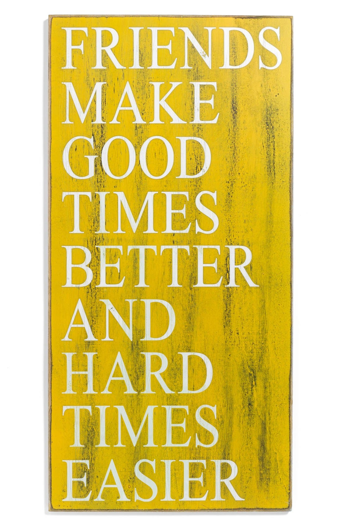 Main Image - Primitives by Kathy 'Friends Make Good Times Better' Box Sign