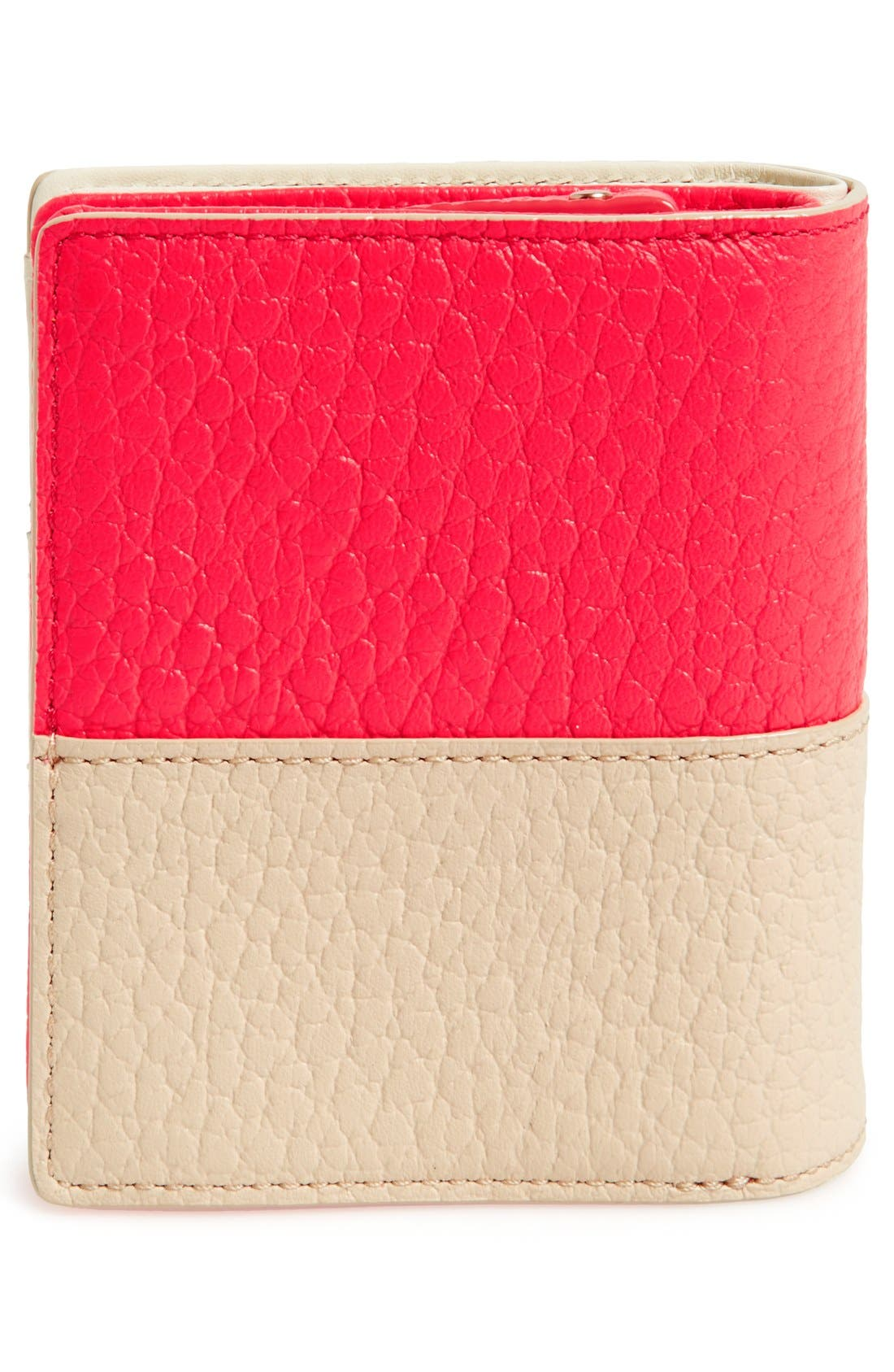 Alternate Image 3  - kate spade new york 'grove court - buttercup' leather wallet