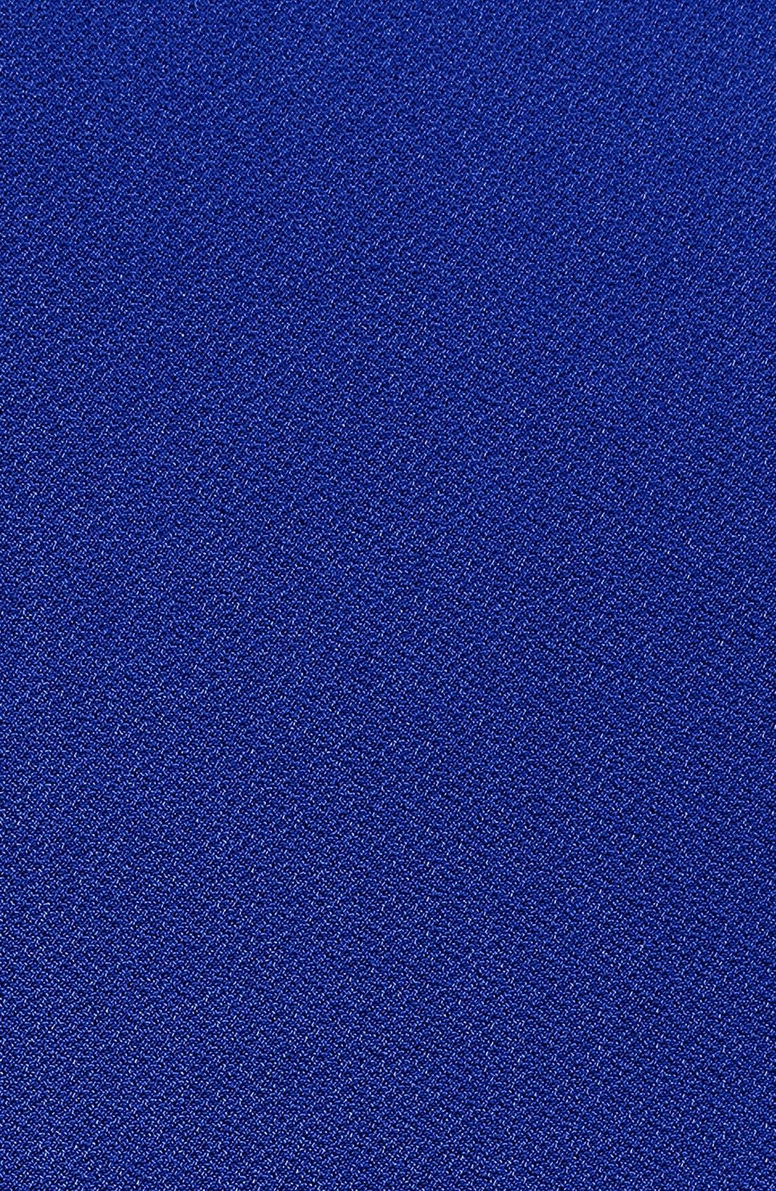 Alternate Image 3  - Ellen Tracy Side Gathered Crepe Sheath Dress