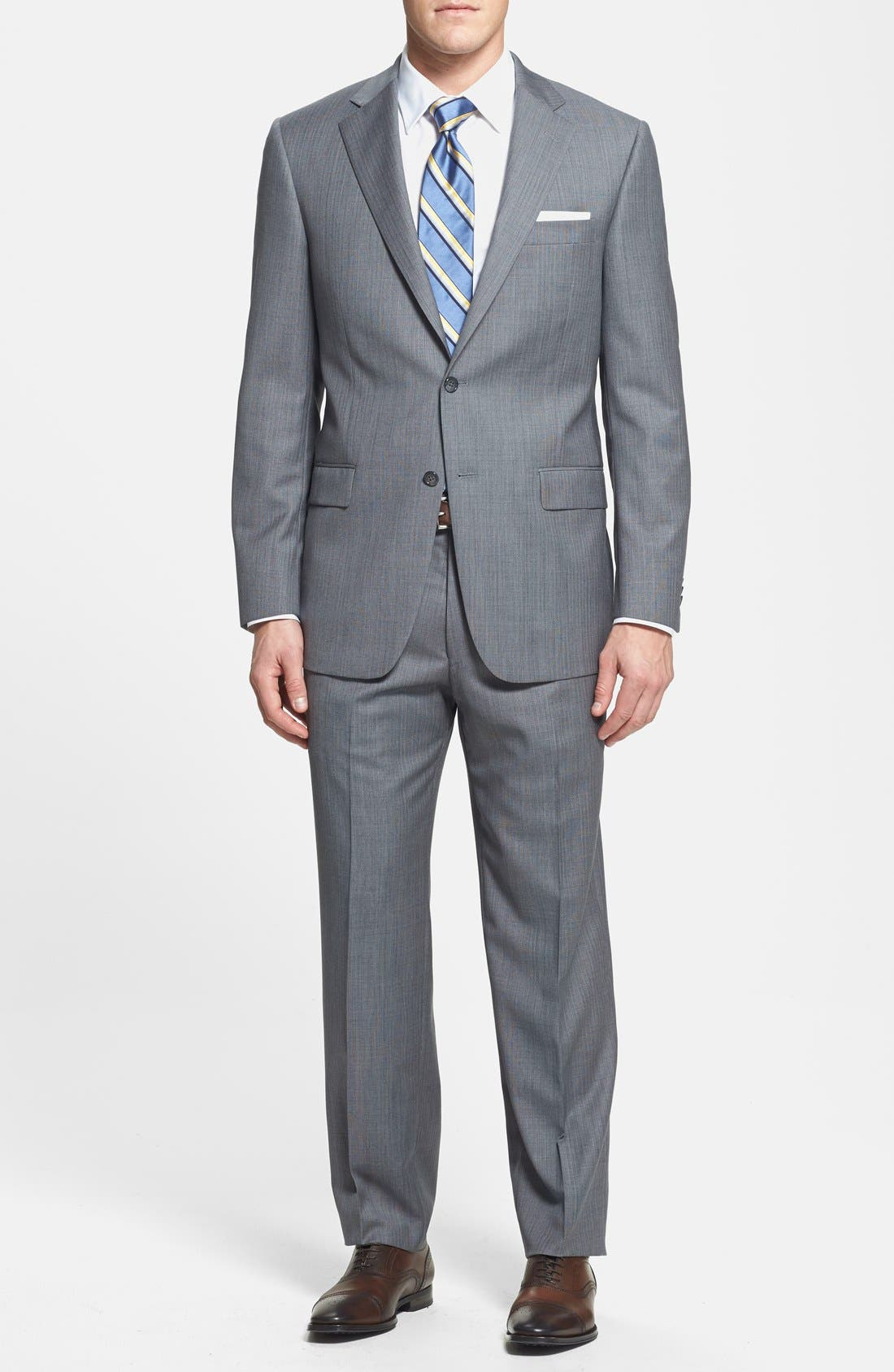 Main Image - Hart Schaffner Marx 'Chicago' Classic Fit Wool Suit