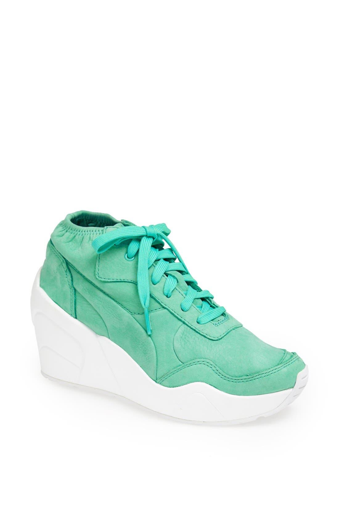 Alternate Image 1 Selected - PUMA 'Trinomic' Wedge Sneaker (Women)